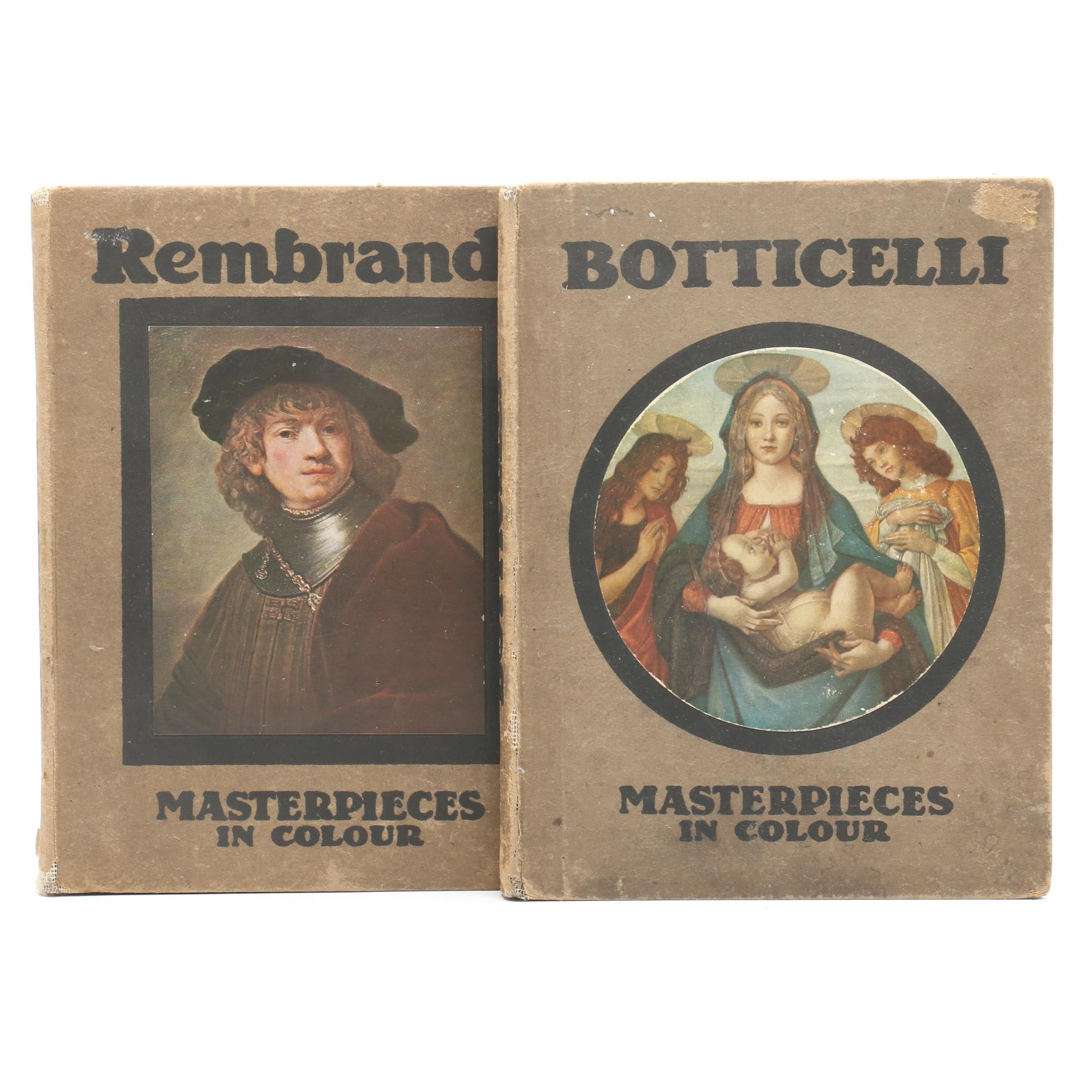 """Two """"Masterpieces in Colour"""" Hardcovers"""