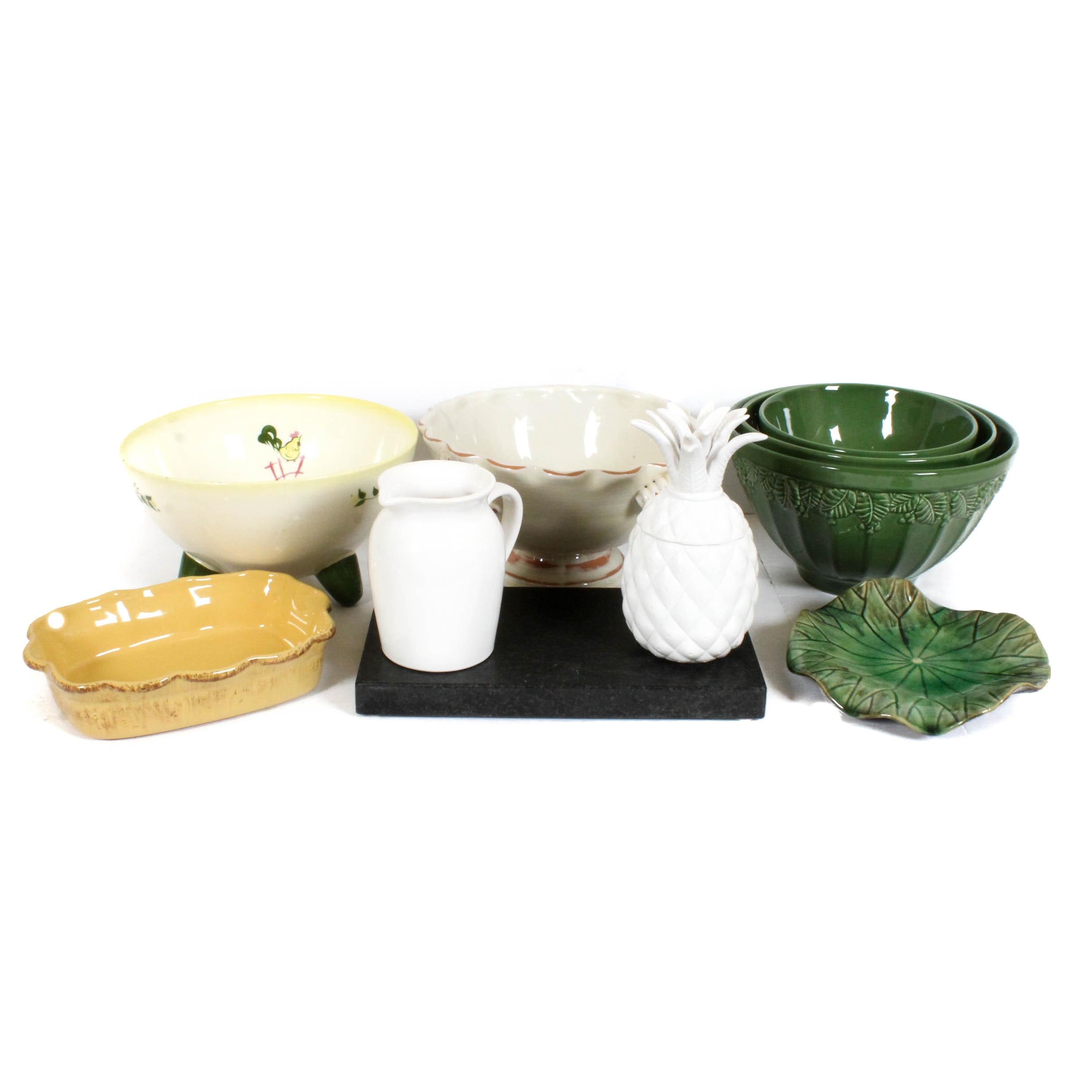 Designer and Artisanal Ceramics Featuring Arhaus and Napco