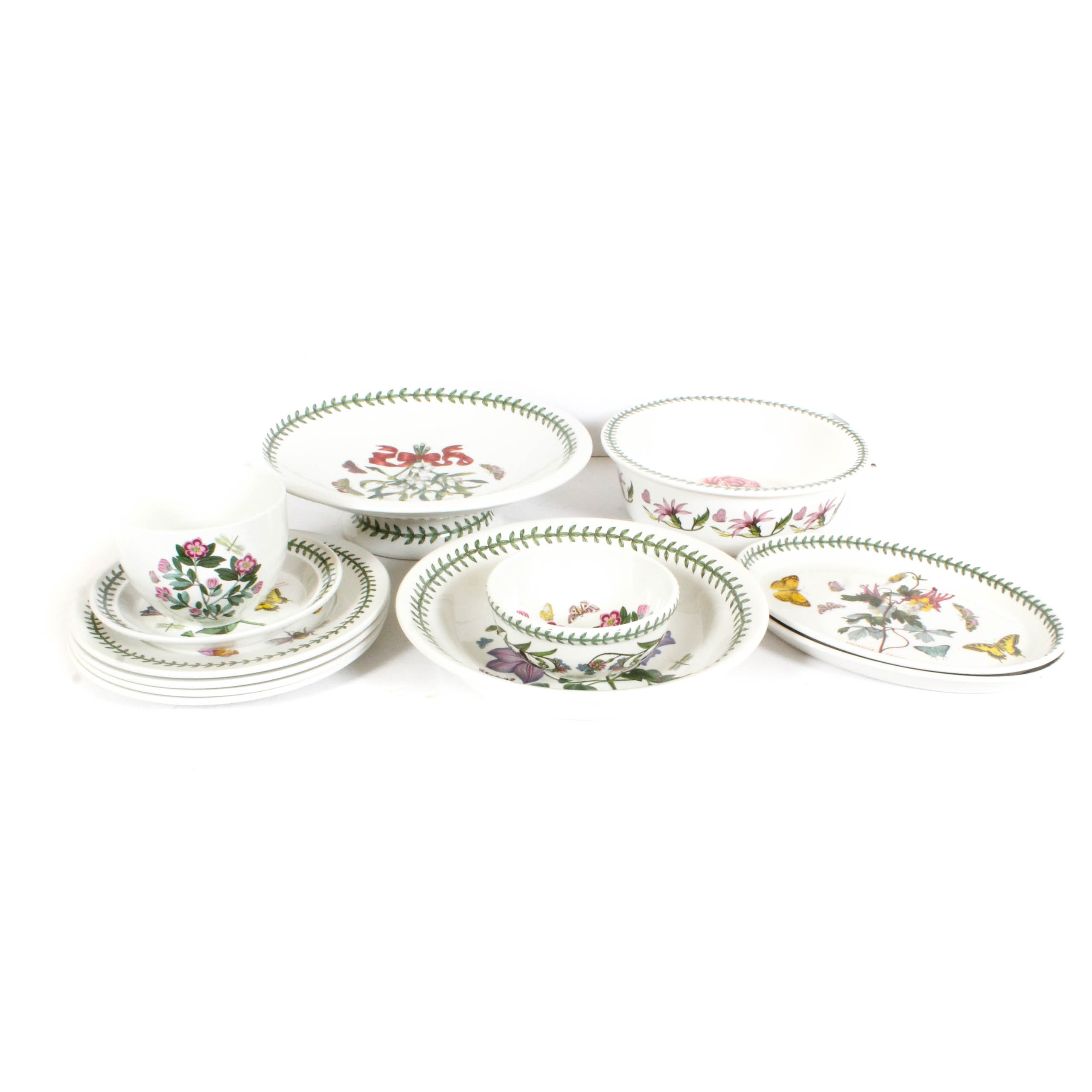 "Portmeirion ""The Botanic Garden"" Ceramic Tableware"