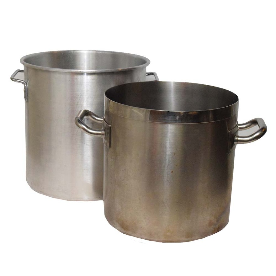 Stock Pots Featuring Piazza