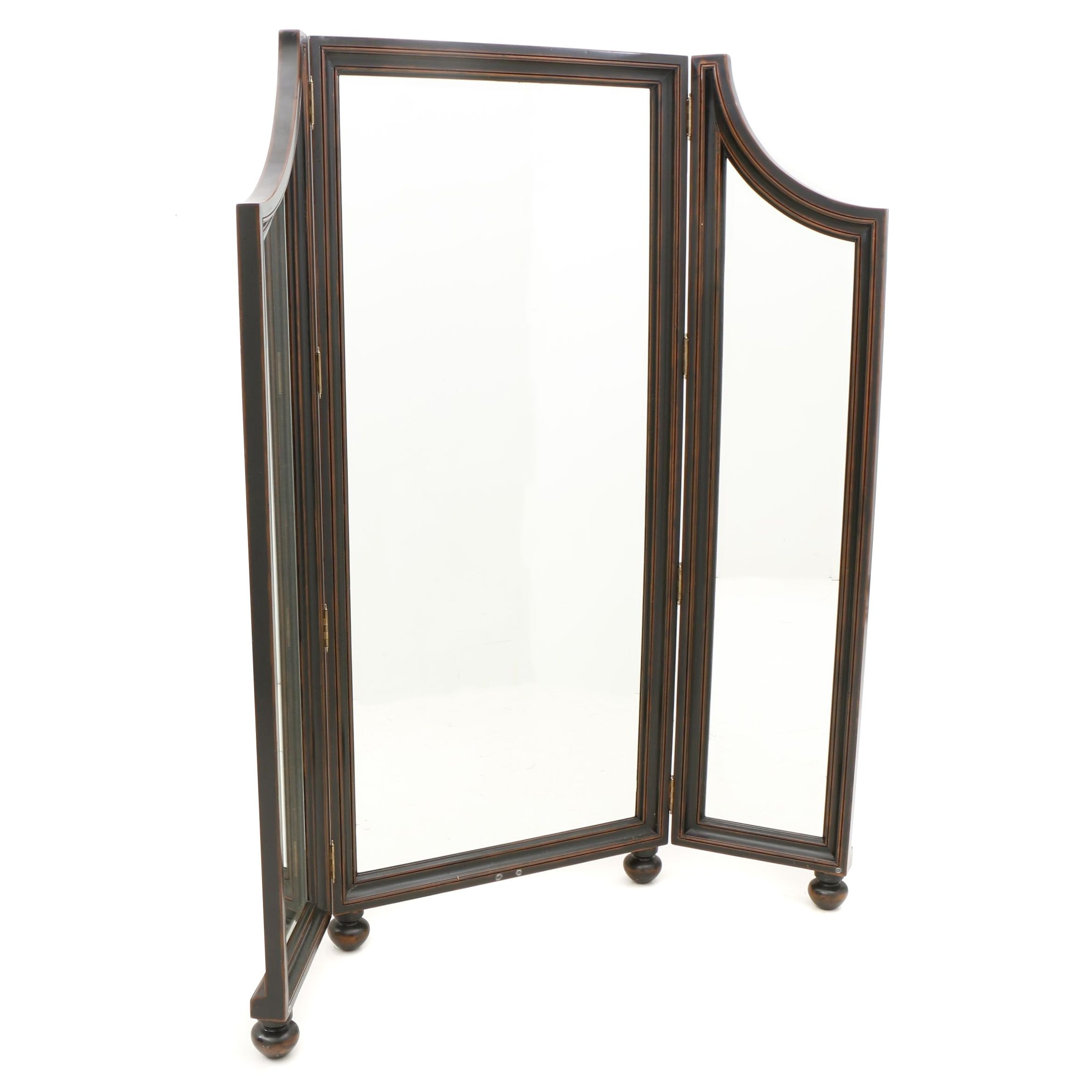 Full-Length Winged Dressing Mirror