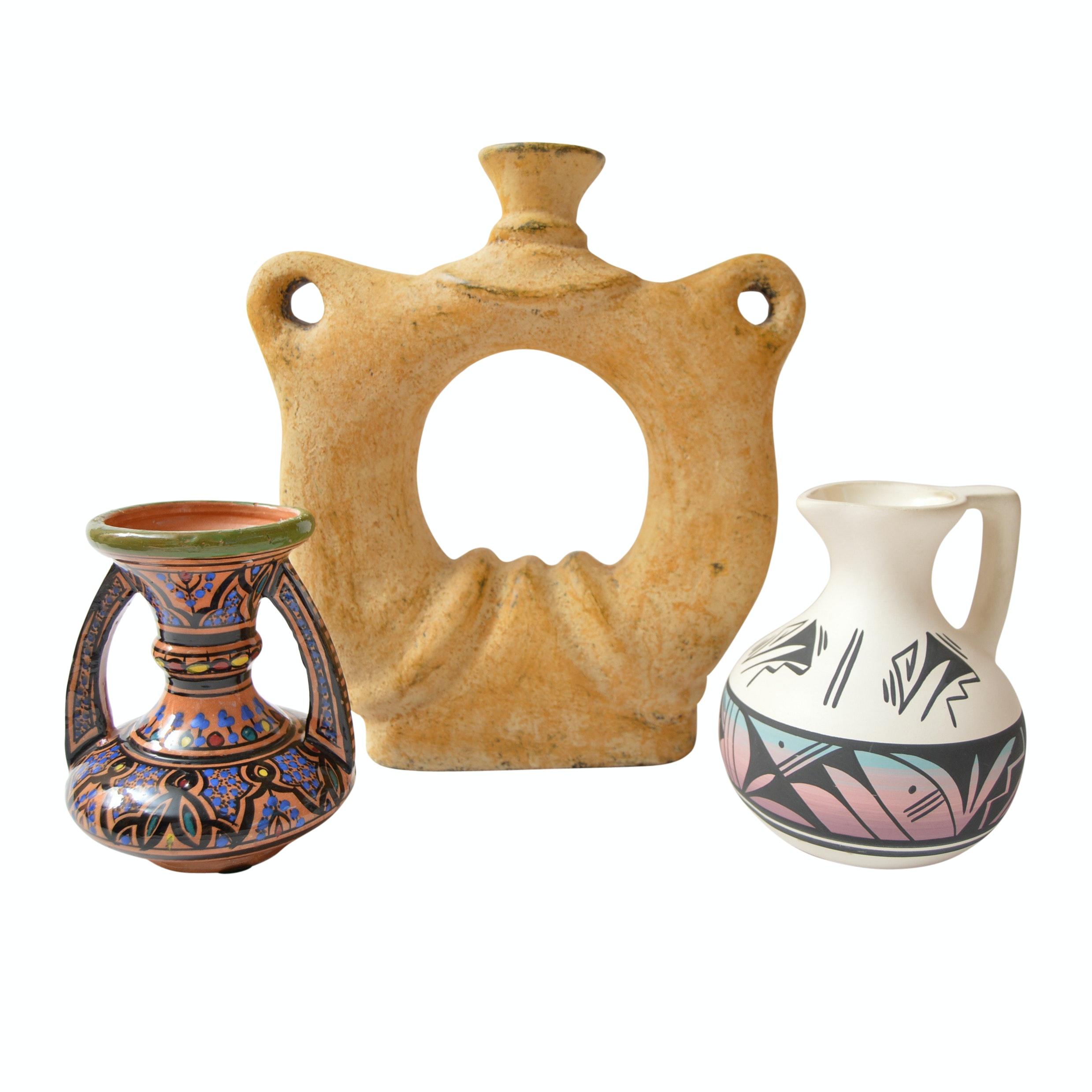 Signed Handmade Pottery