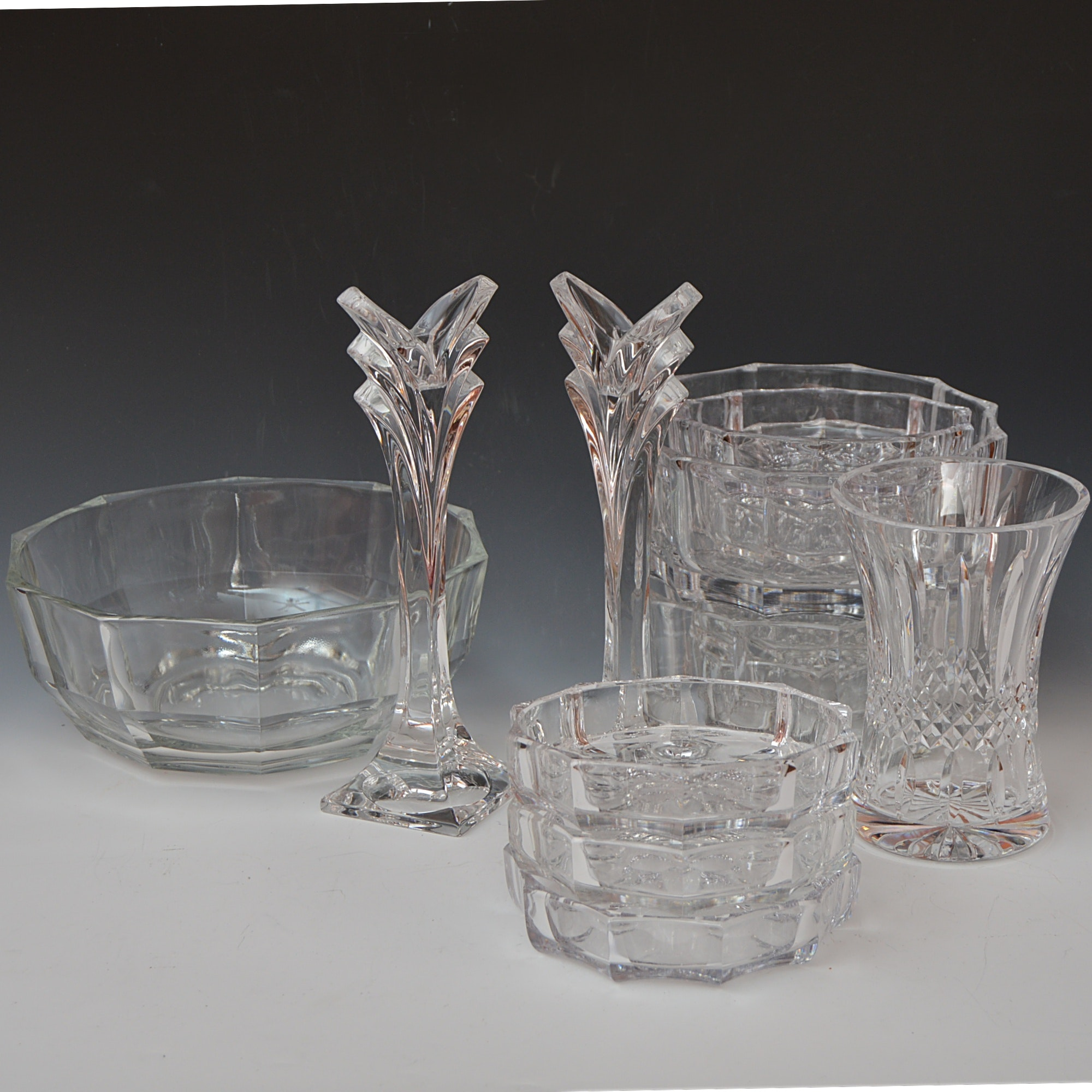 Selection of Crystal and Glass Tableware