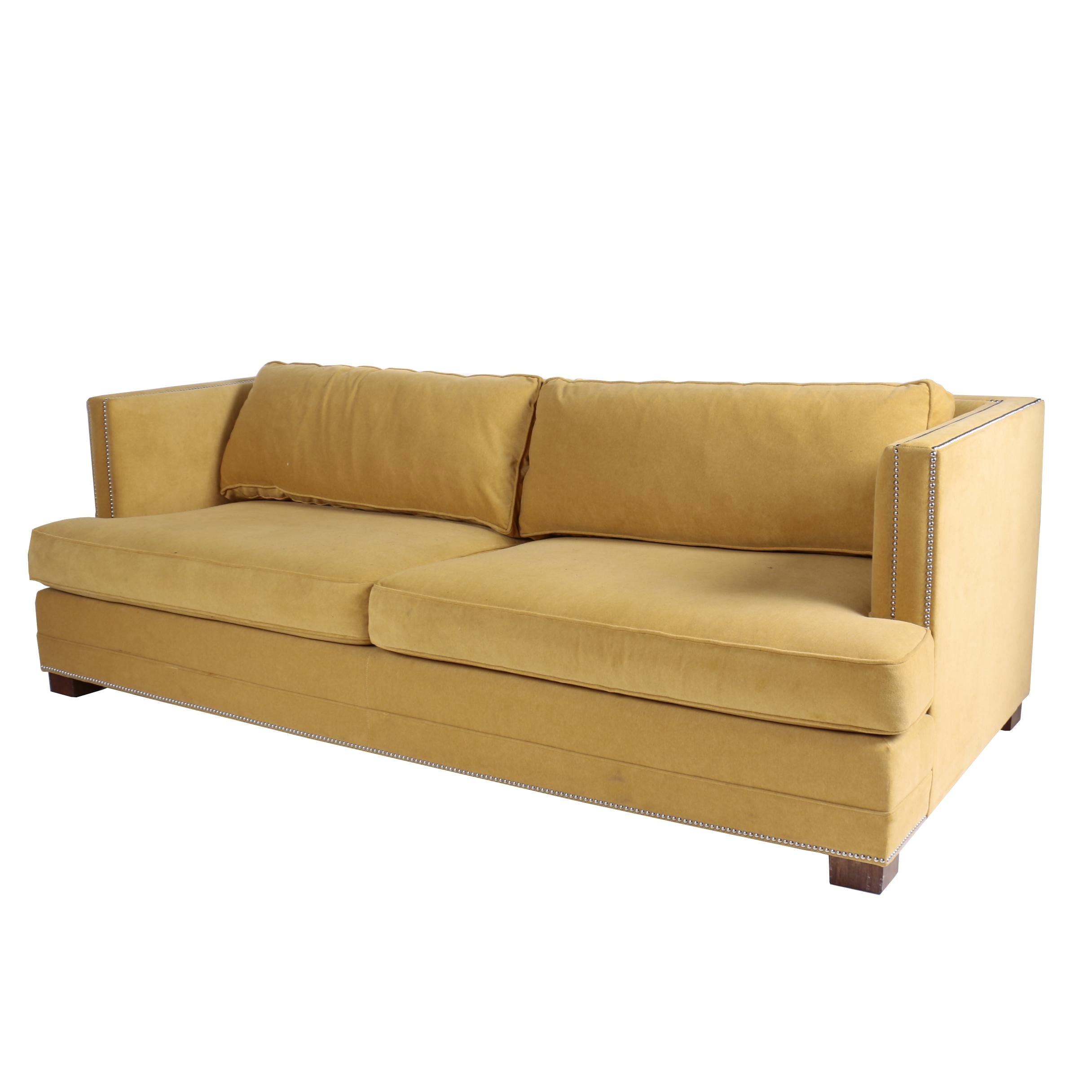 Mitchell Gold + Bob Williams Custom Upholstered Marigold Sofa ...