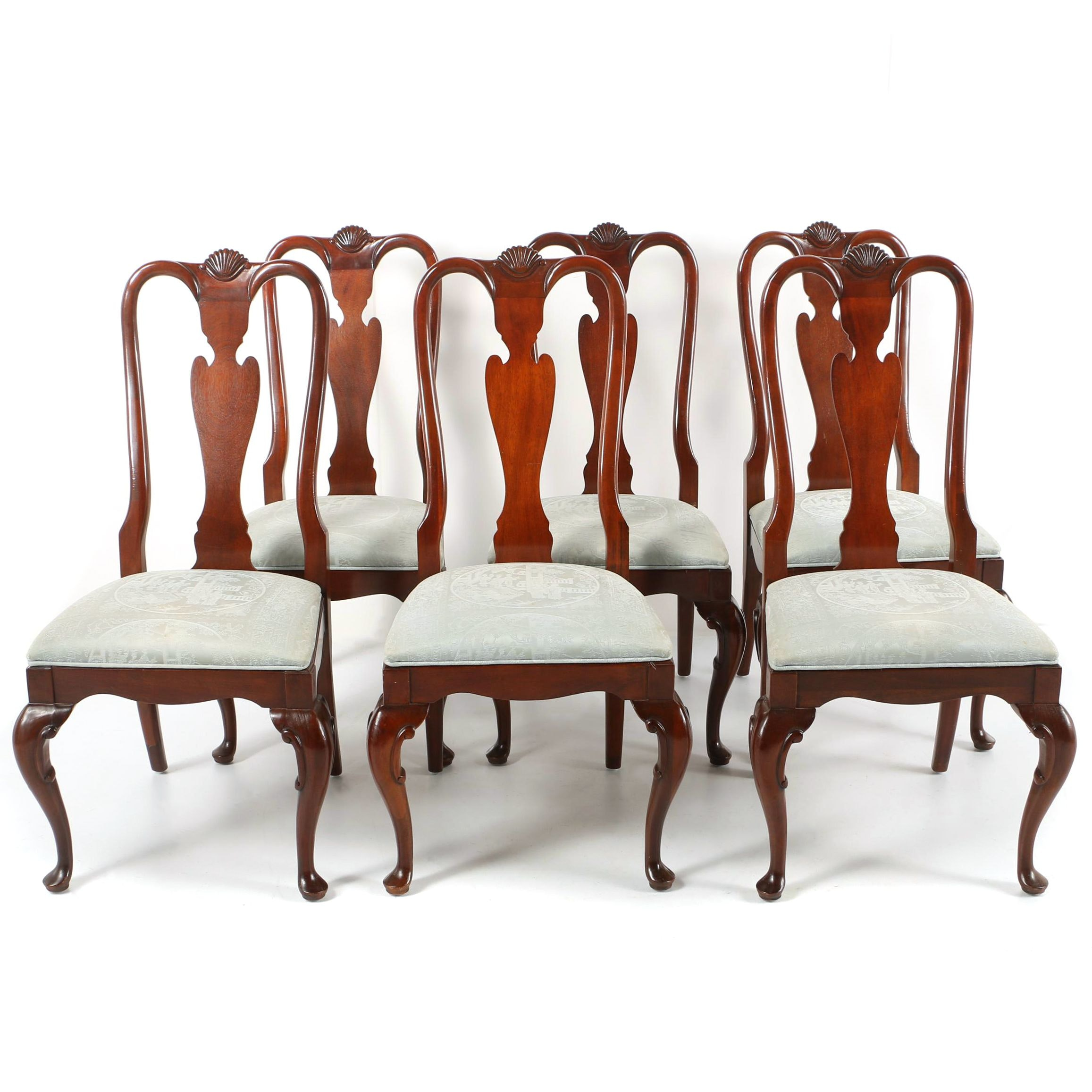 Queen Anne Side Chairs by Century Furniture