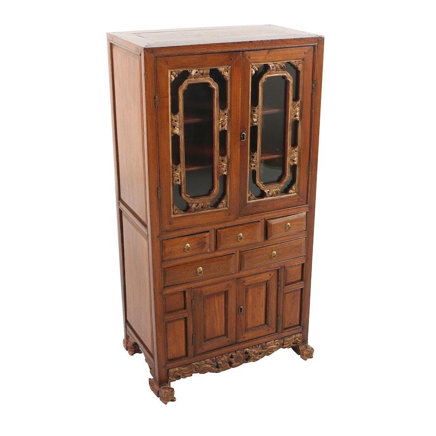 Vintage Chinese Display Cabinet