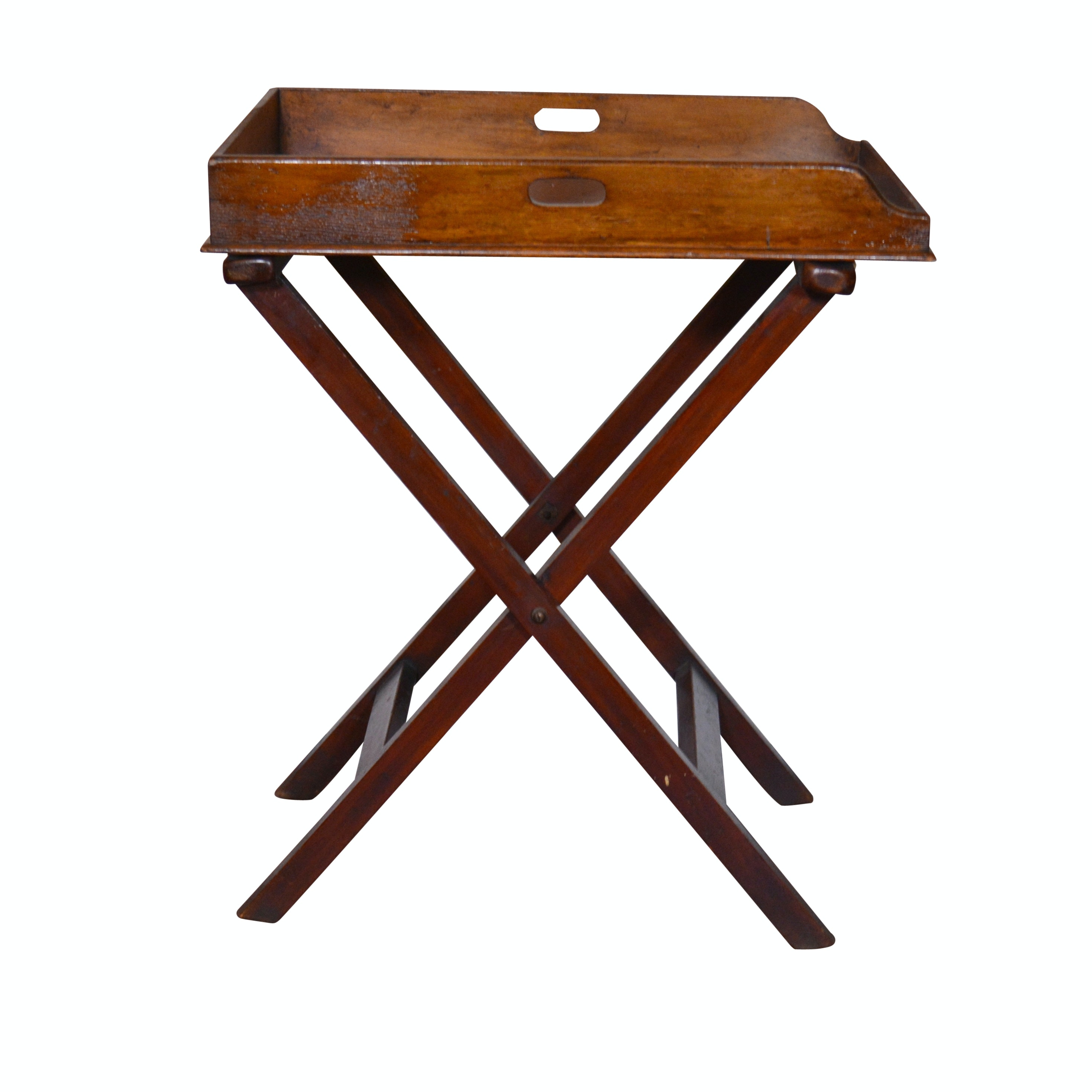 Oak Butler's Tray-on-Stand, 20th Century