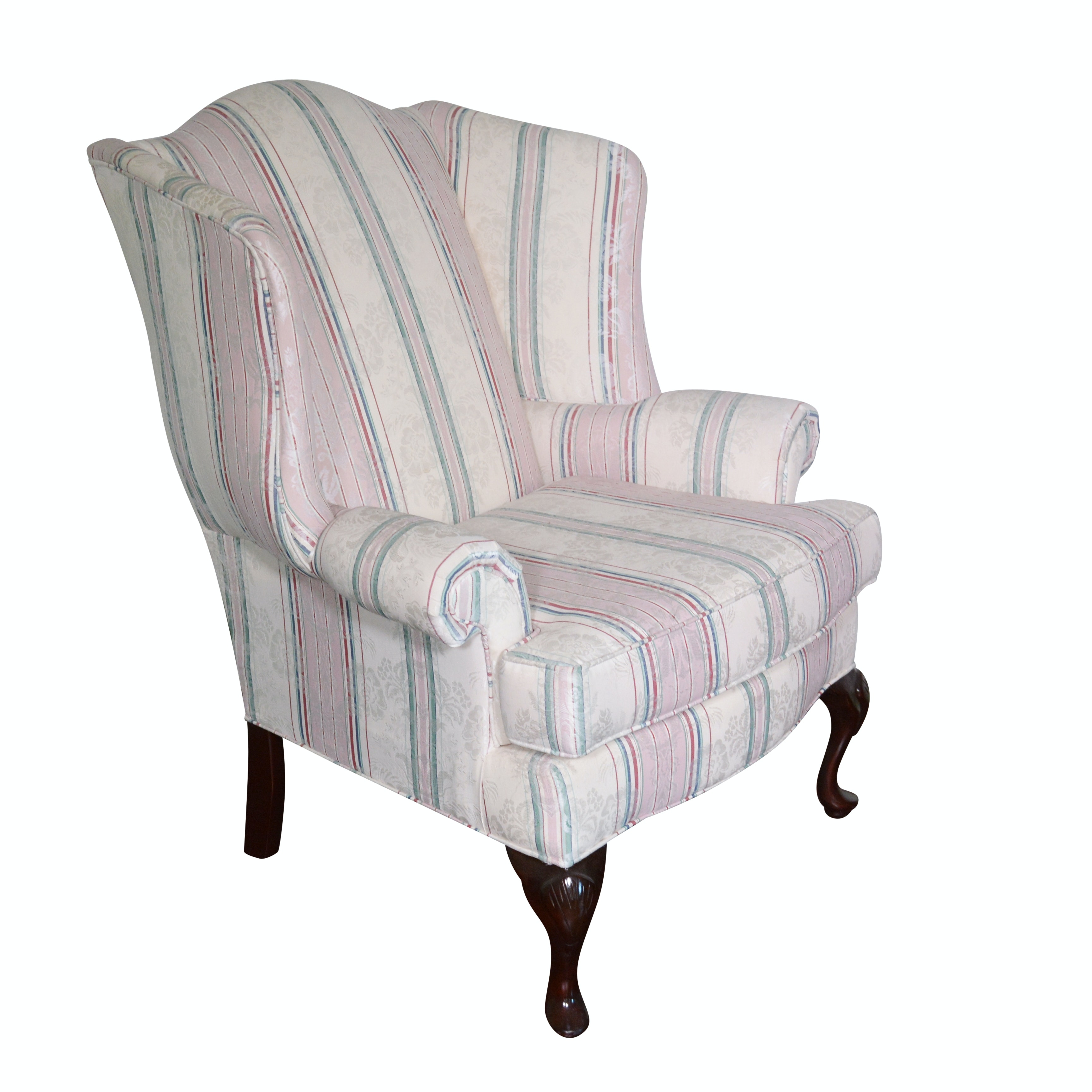 Upholstered Wingback Chair by Craftmaster