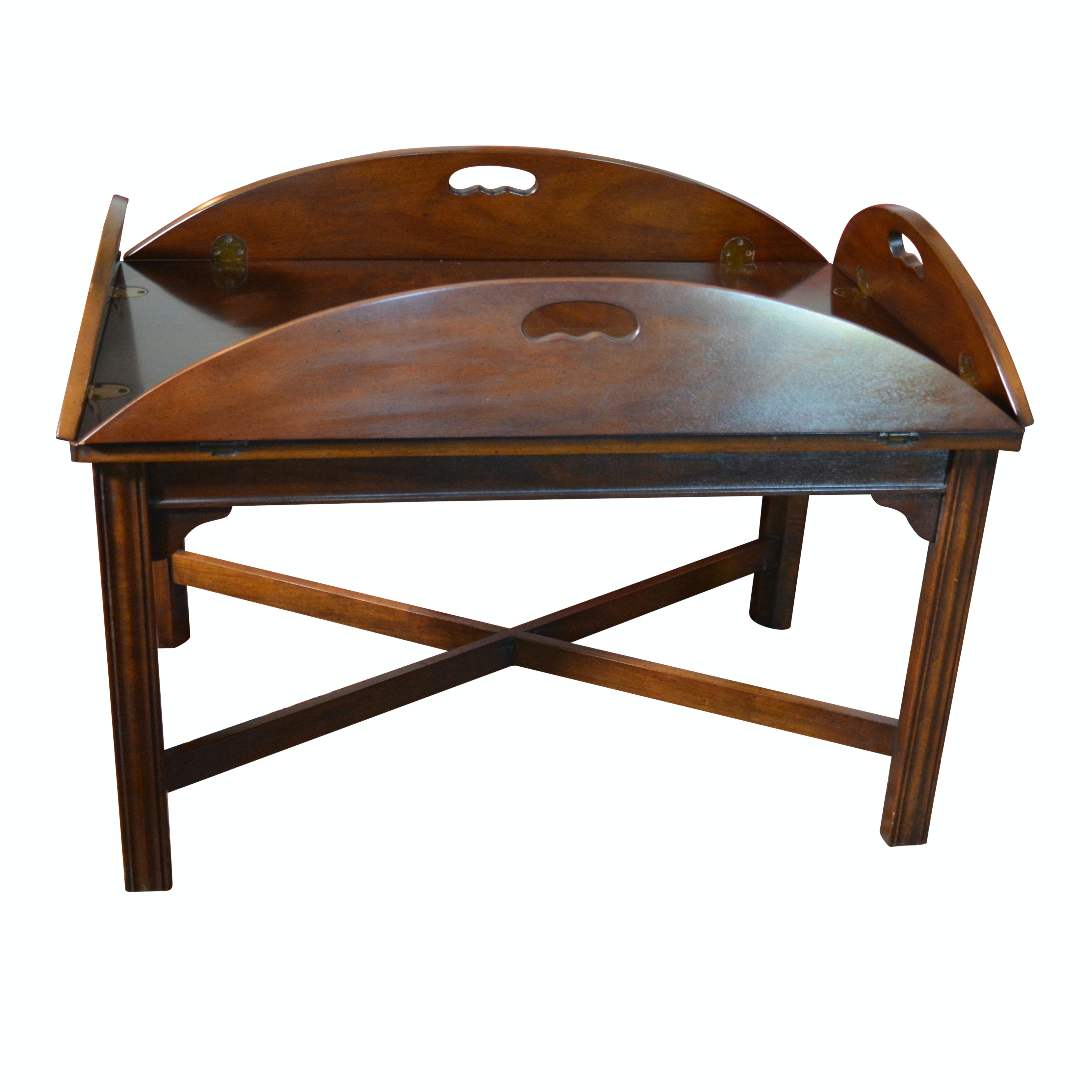 Vintage Butler's Tray Coffee Table by Drexel-Heritage