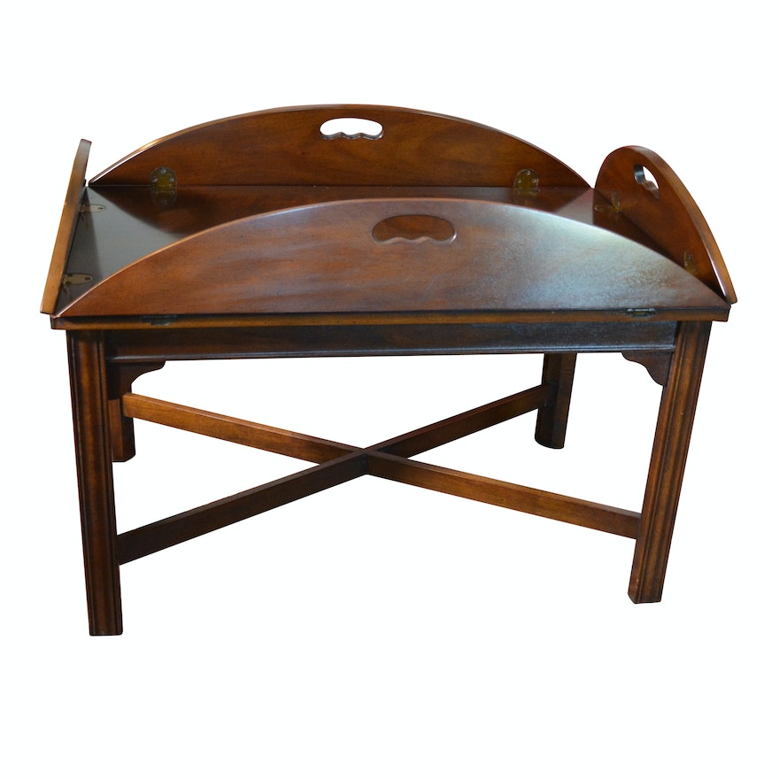 Vintage Butler Coffee Table: Vintage Butler's Tray Coffee Table By Drexel-Heritage : EBTH