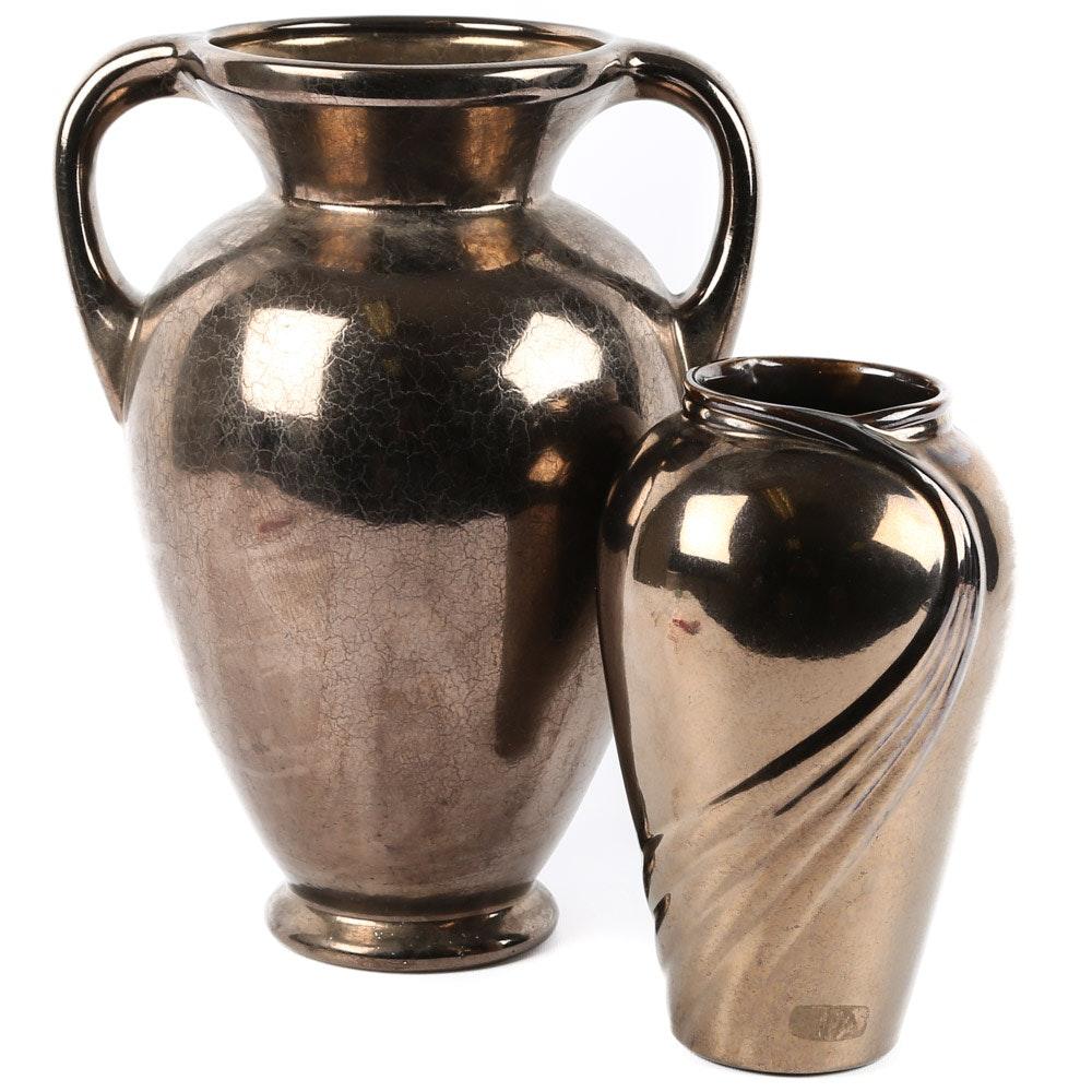Mid Century Haeger Pottery Vases