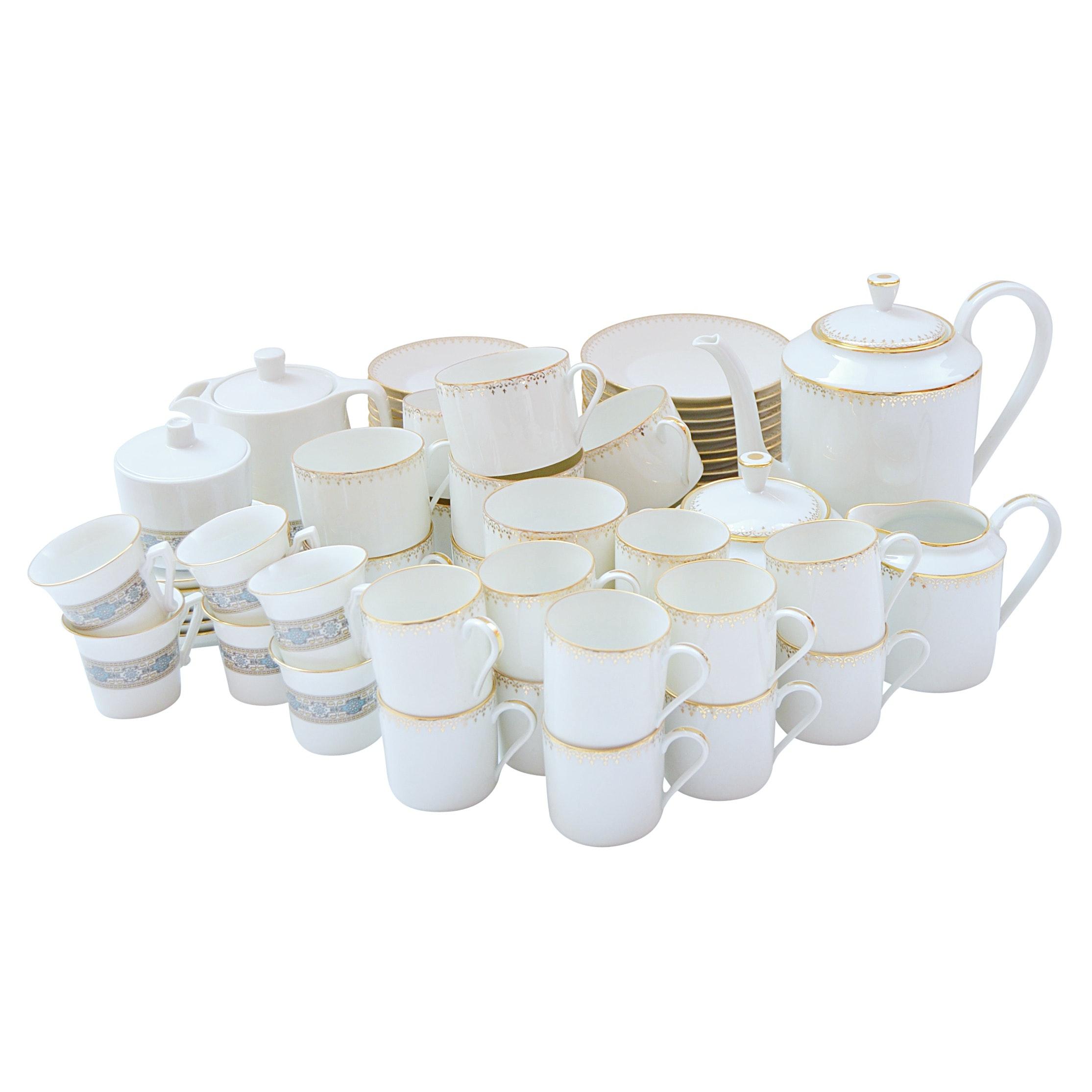Vintage Limoges and IPA Porcelain Demitasse Sets