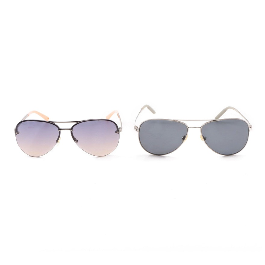 a458616554a8b Juicy Couture Genre S and Mosley Tribes Raynes Aviator Sunglasses   EBTH
