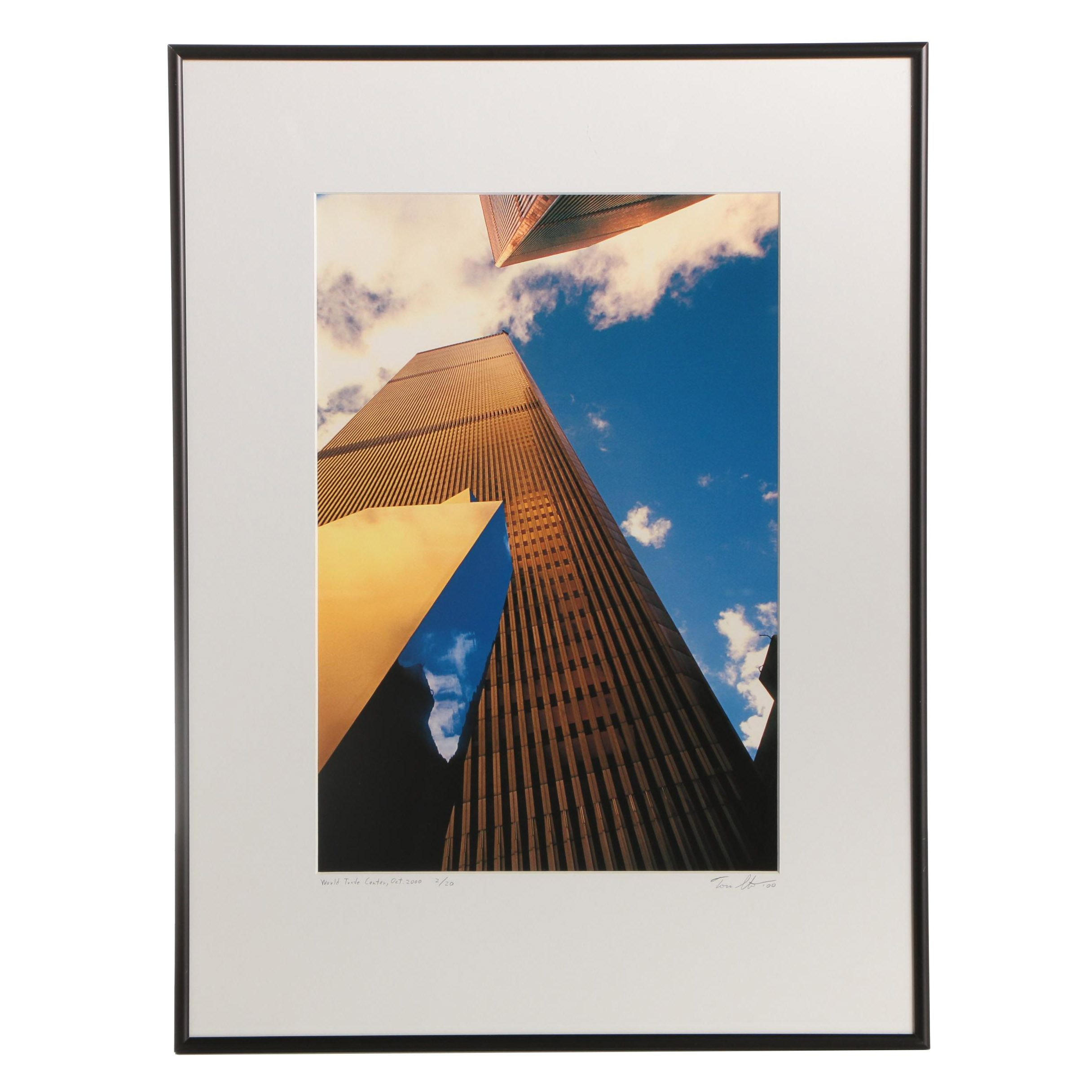 2000 World Trade Center Photograph