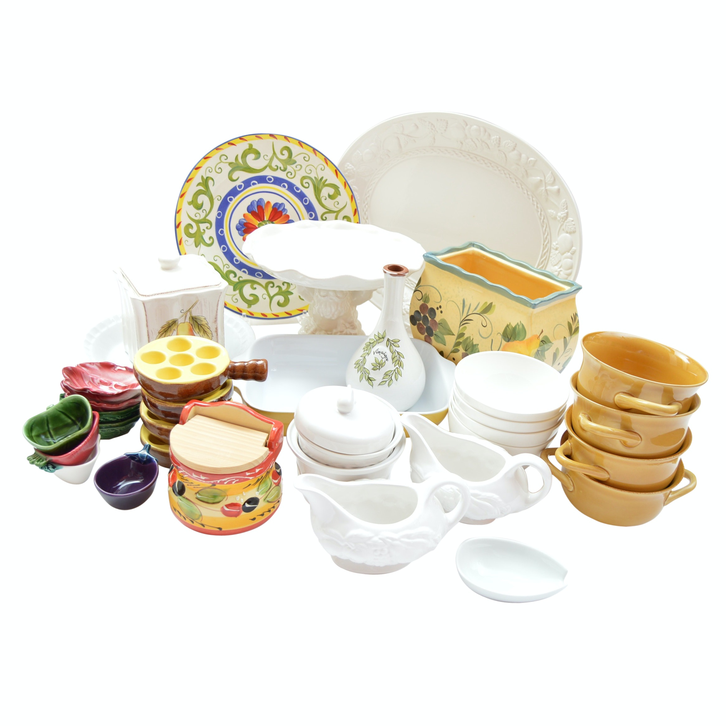 Italian Ceramic Tableware and Serveware With Williams-Sonoma and Emile Henry