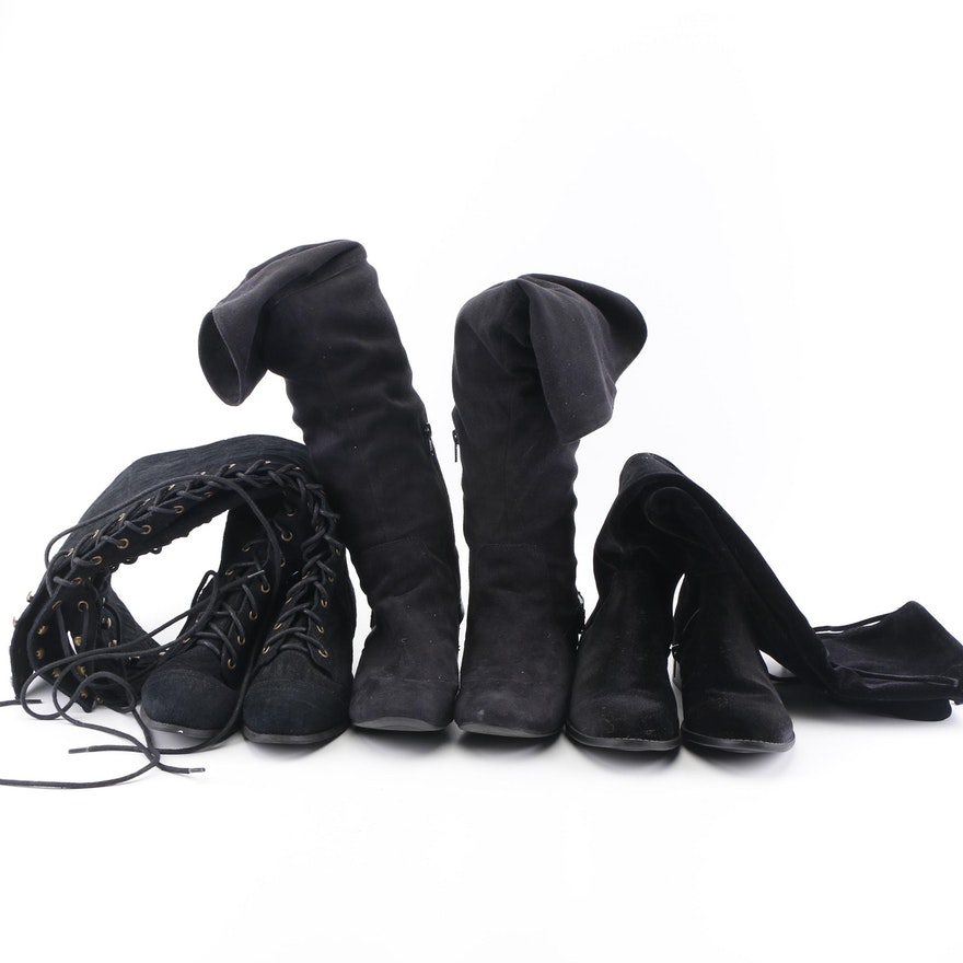 Black Boots including Aldo 29ae10056