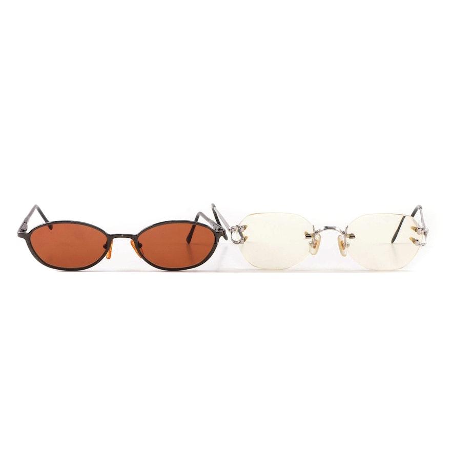 a7a4f58843e Serengeti 6736 Sunglasses with Konishi HR-103 Prescription Eyeglasses ...
