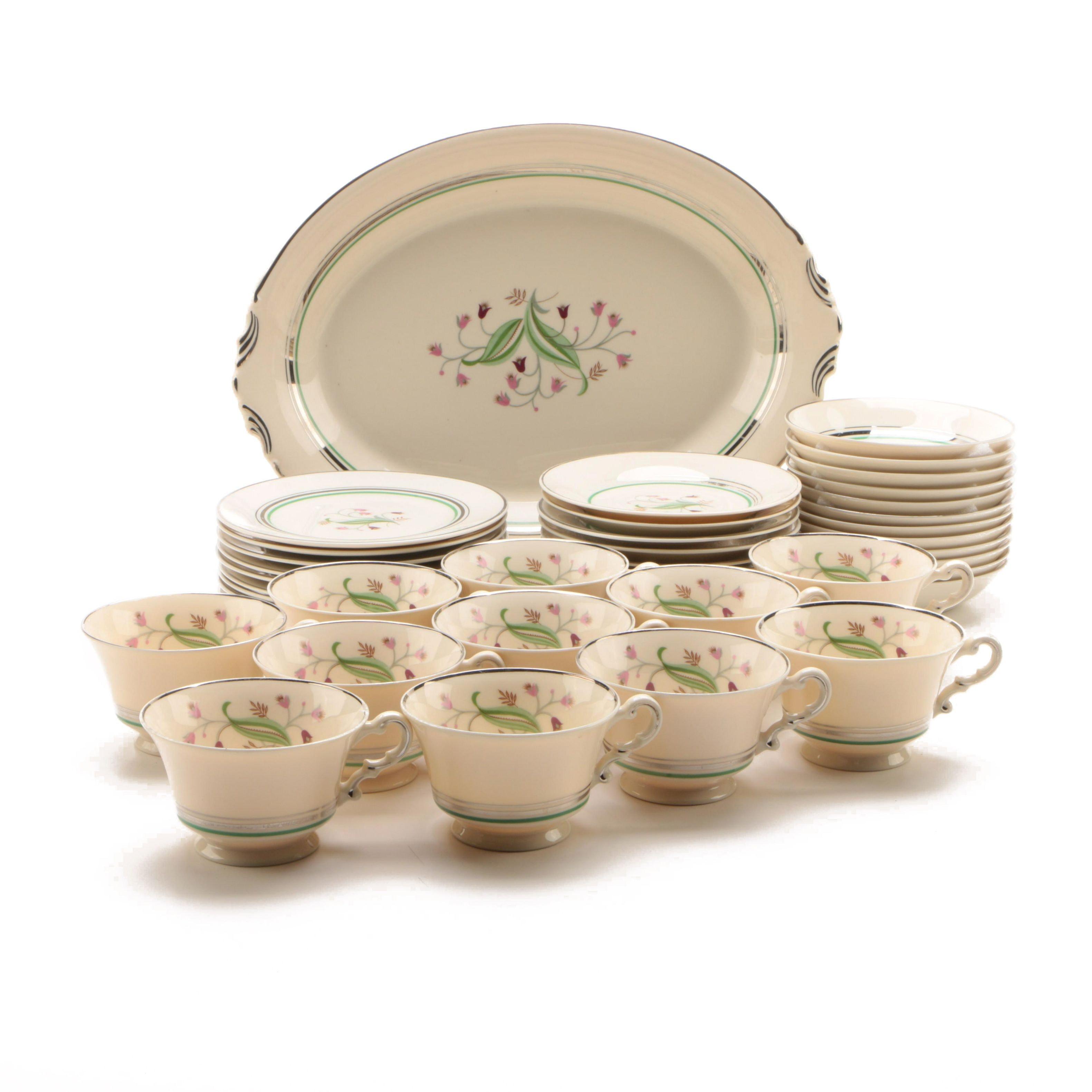 "Vinatge Syracuse China ""Coralbel"" Dinnerware c. 1949-67"