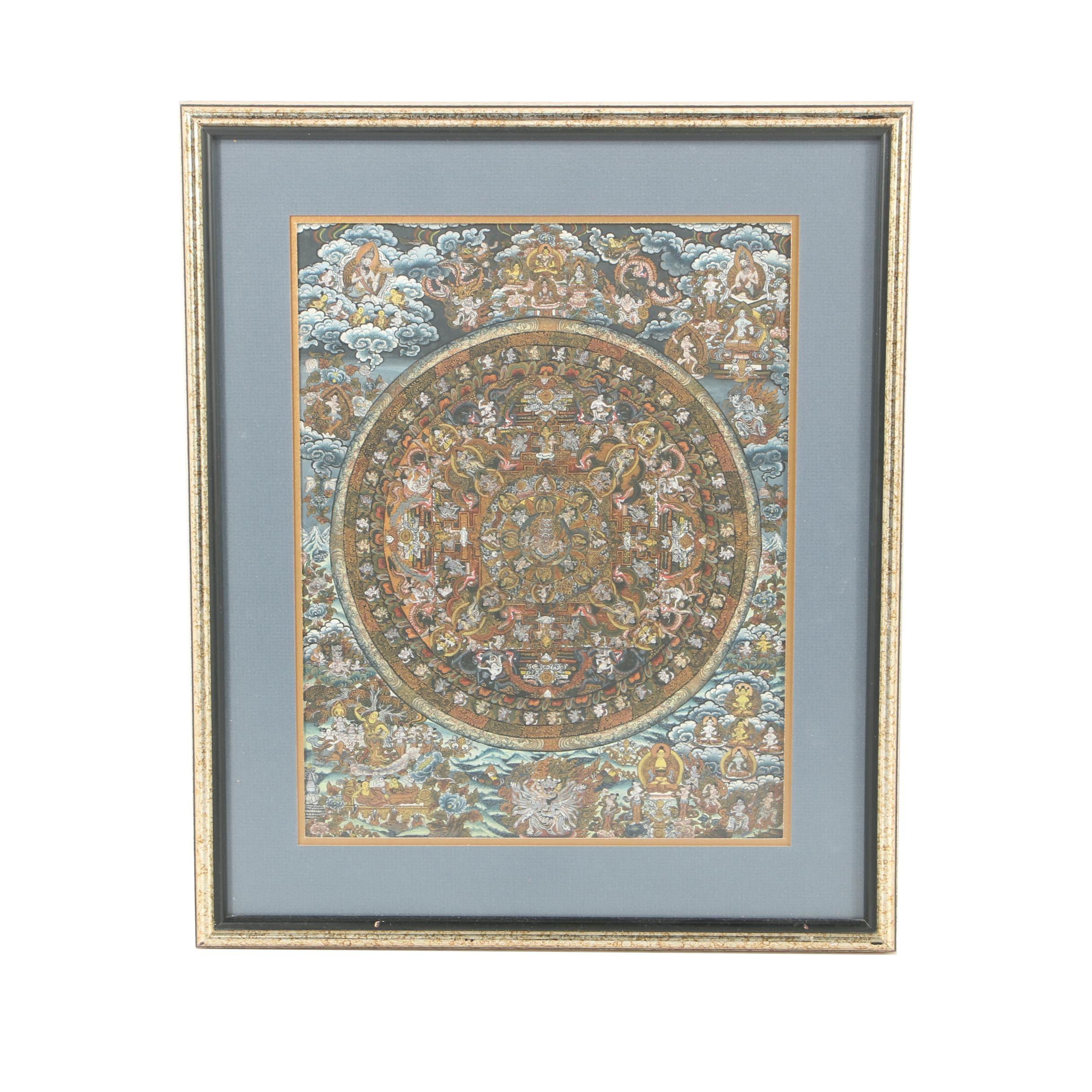 Tibetan Thangka Giclée