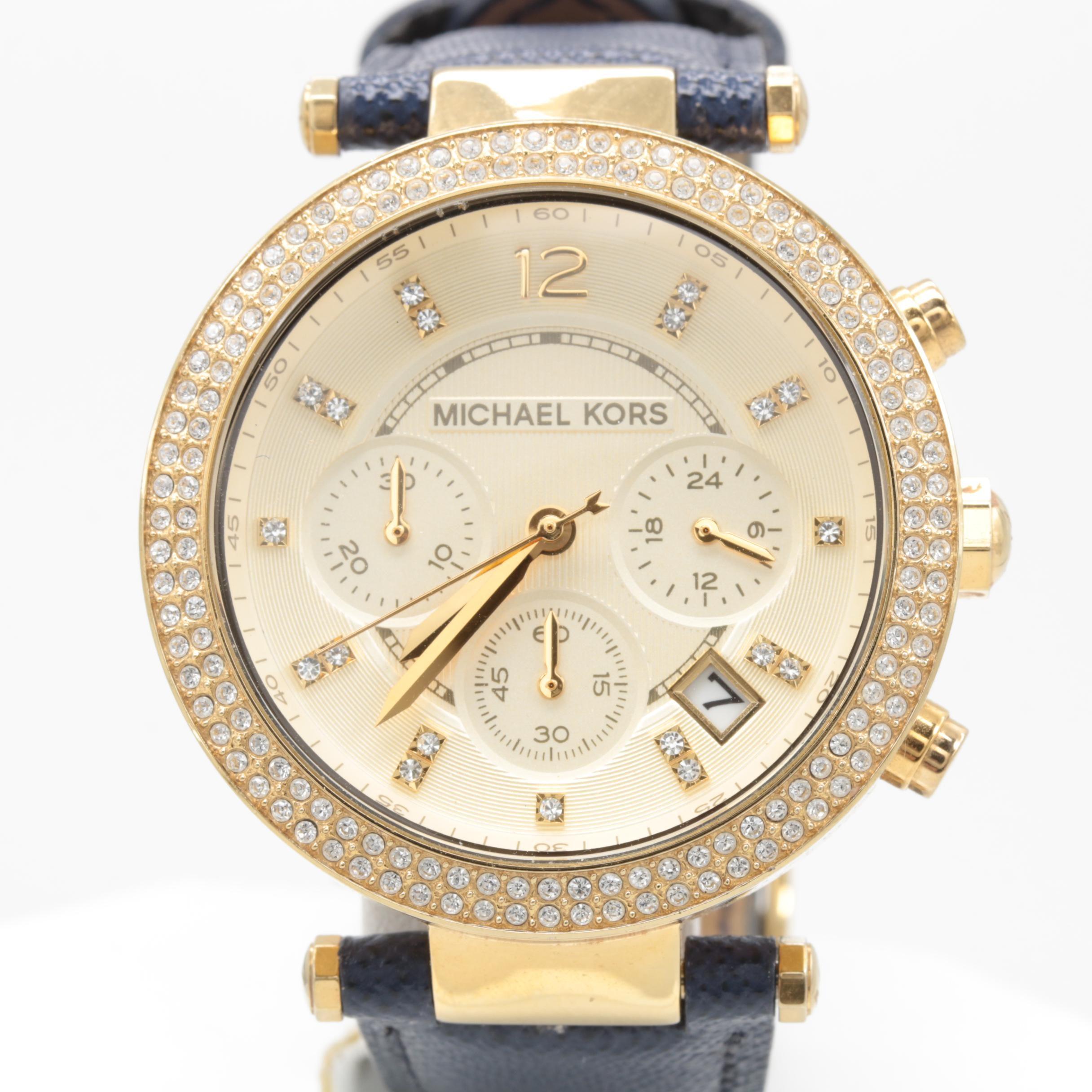 Michael Kors MK-2280 Stainless Steel Chronograph Wristwatch