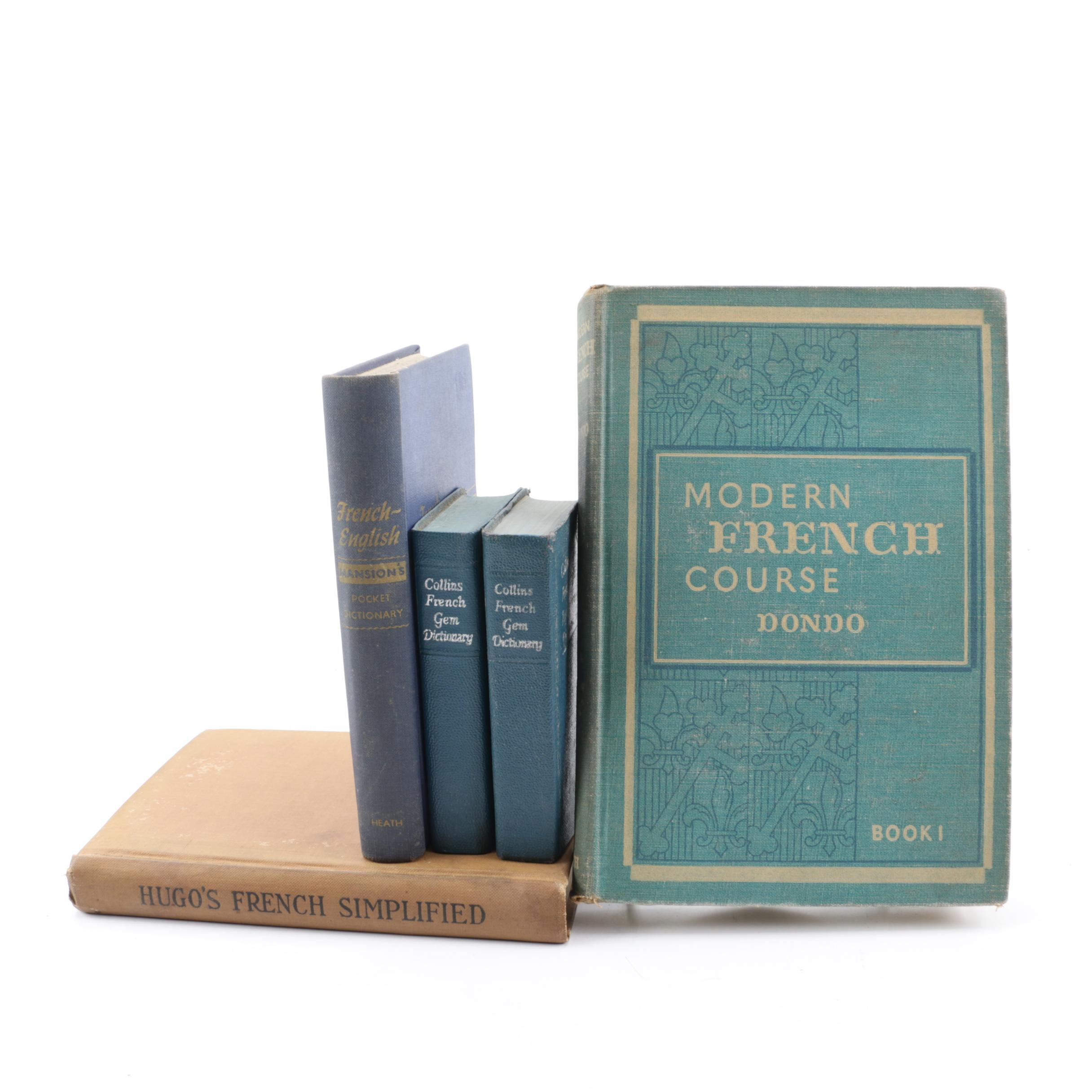 French Language Books and Dictionaries