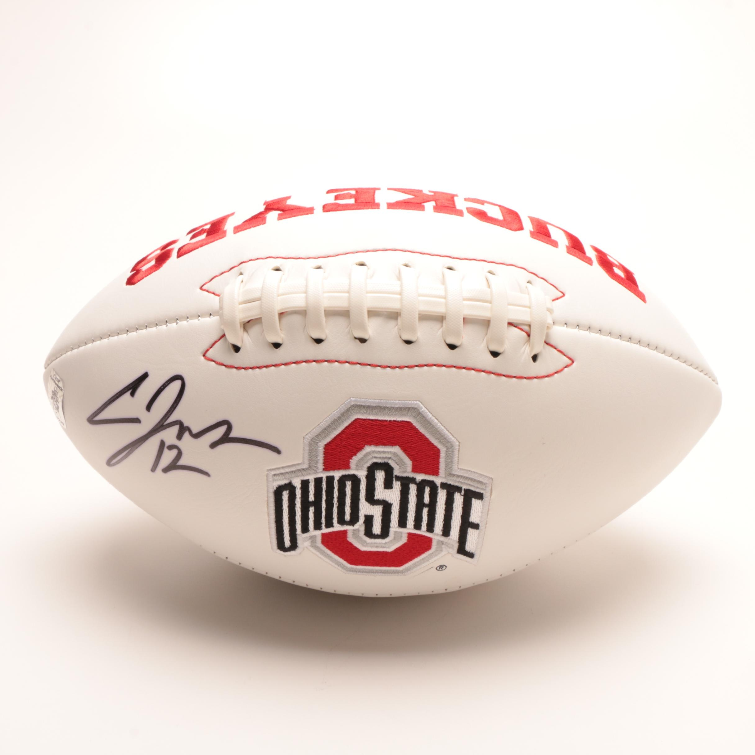 Cardale Jones Signed Ohio State Football With COA