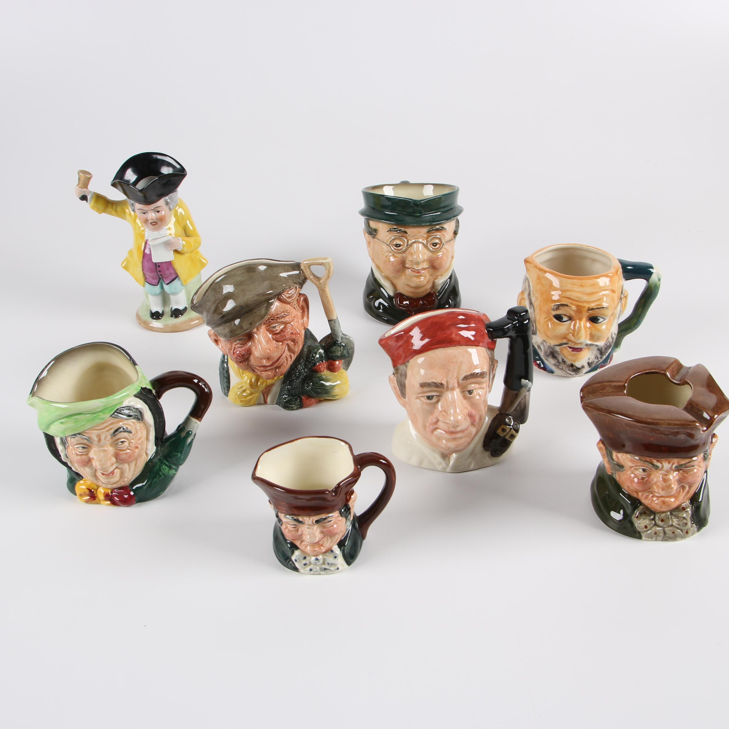 Character Mugs including Royal Doulton