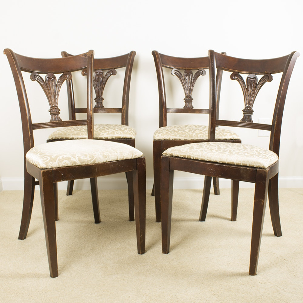 Contemporary Sheraton Style Dining Chairs