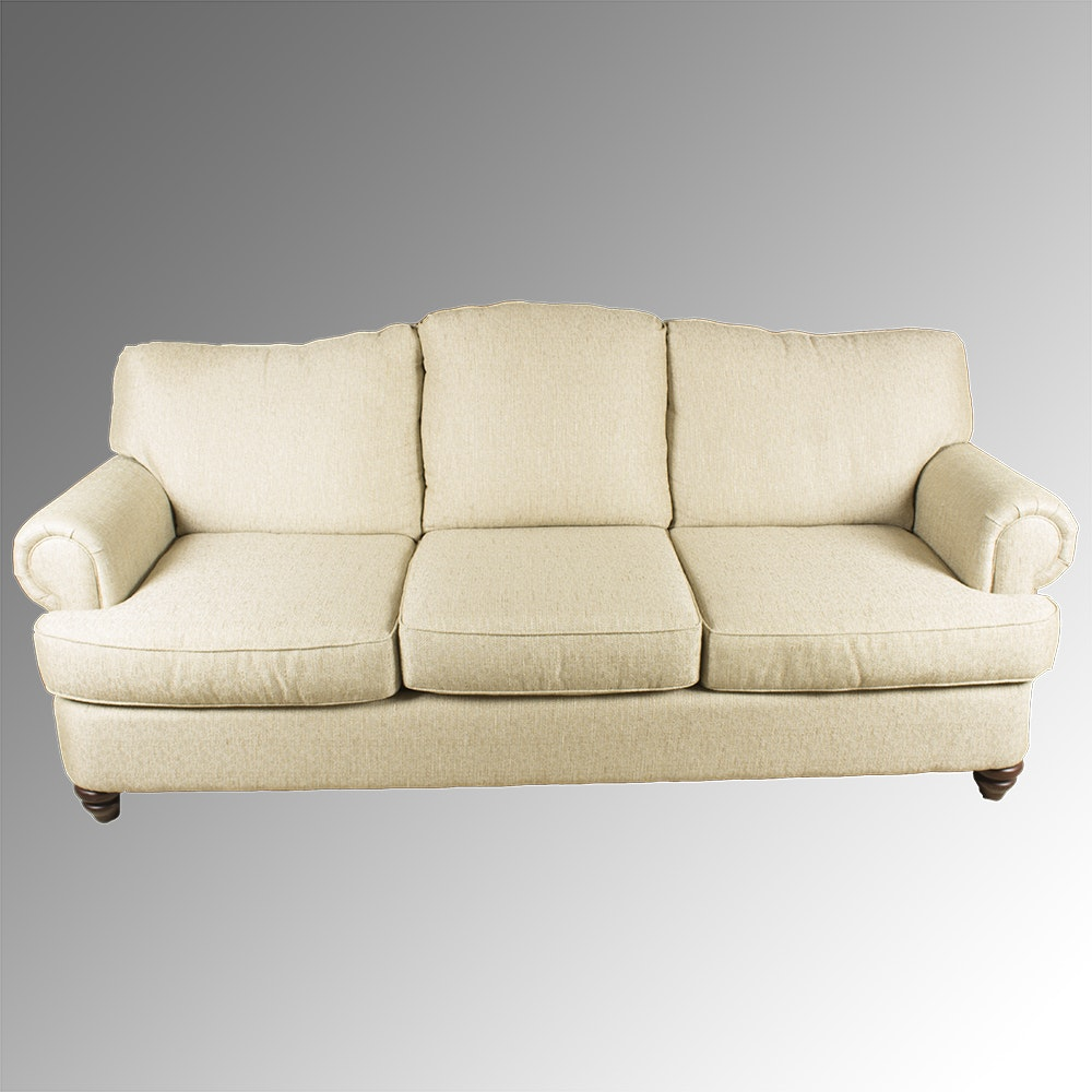 Contemporary Upholstered Sofa by Bassett