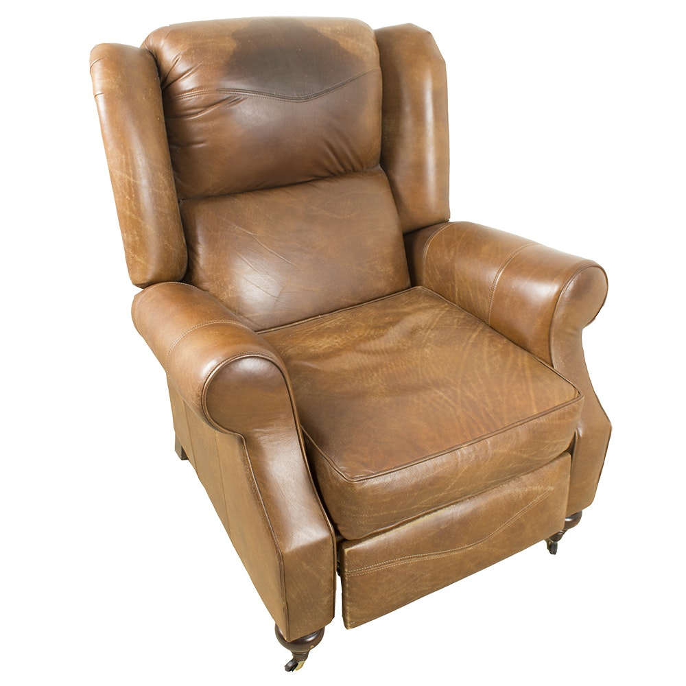 Thomasville Leather Recliner