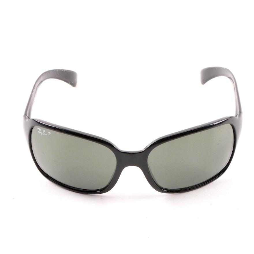 ceebf6349e Ray-Ban 4068 Black Rectangular Sunglasses   EBTH