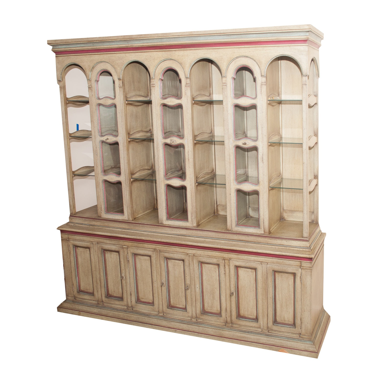 Renaissance Revival Style China Cabinet by Dorchester House
