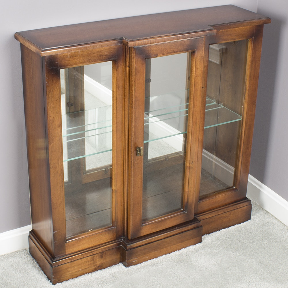 Small Breakfront Curio Cabinet by Pulaski Furniture