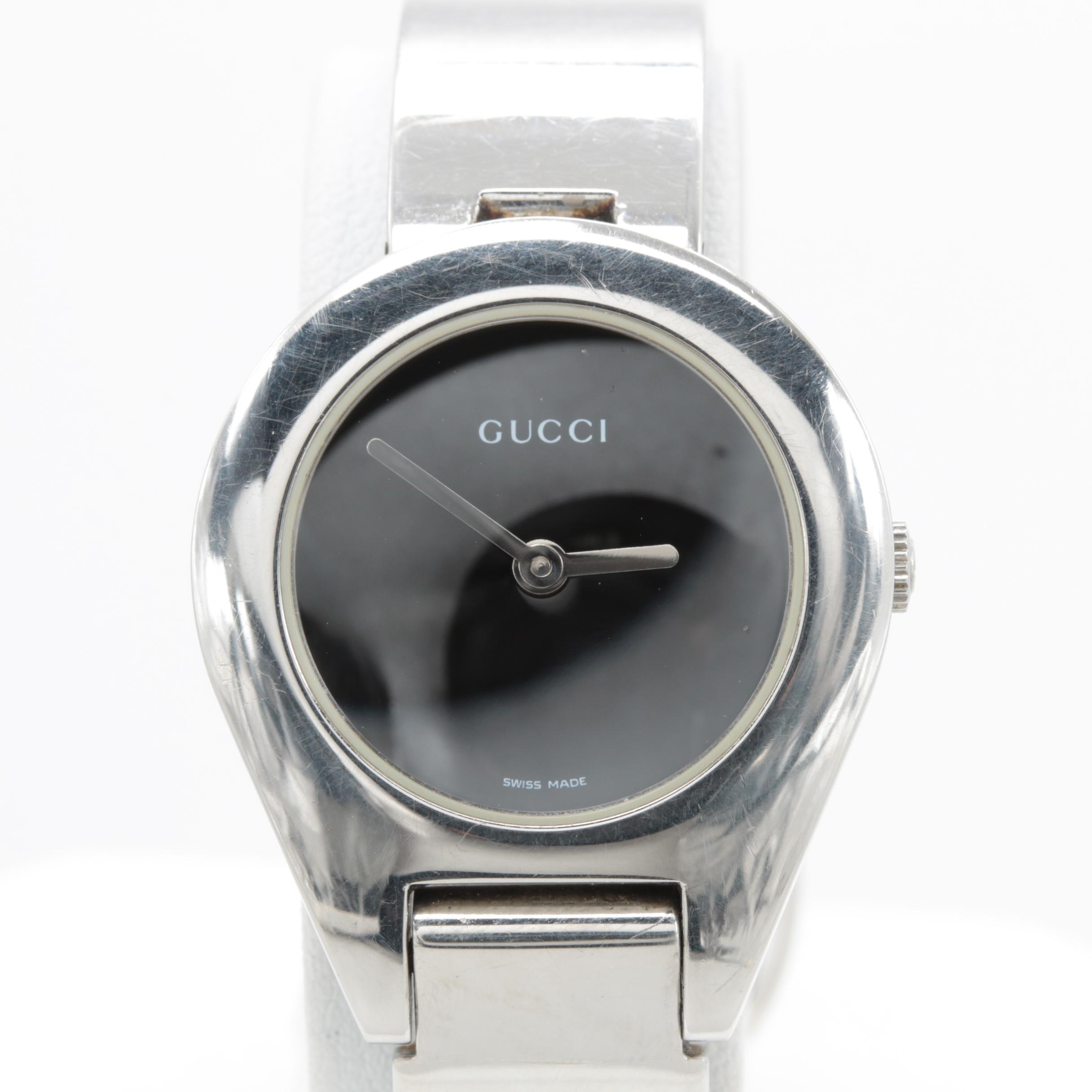 Gucci 6700L Stainless Steel Wristwatch