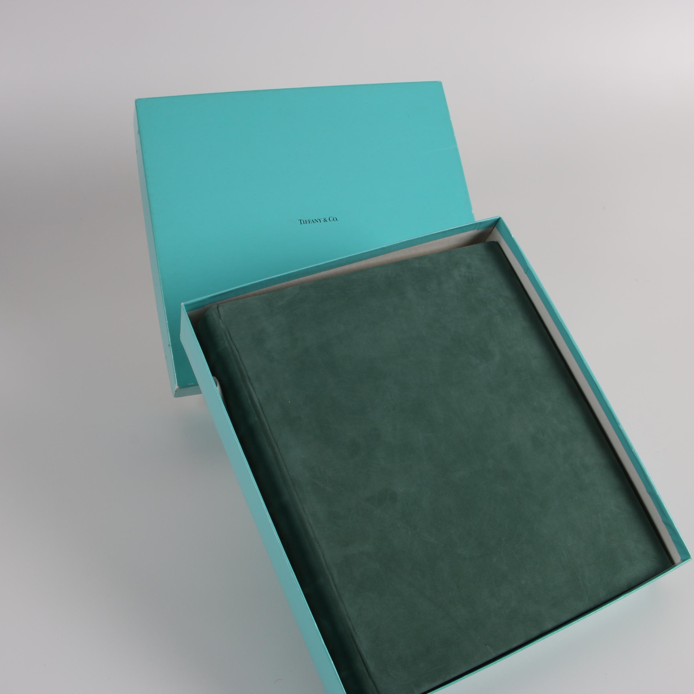 Tiffany & Co. Suede Photo Album