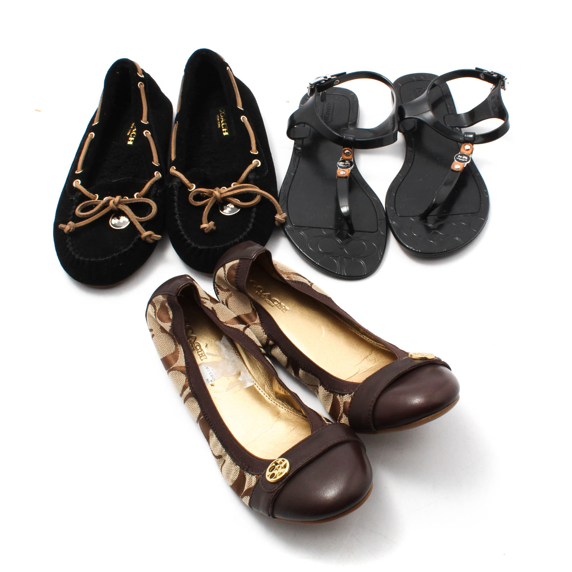 Coach Ballet Flats, Loafers and Sandals