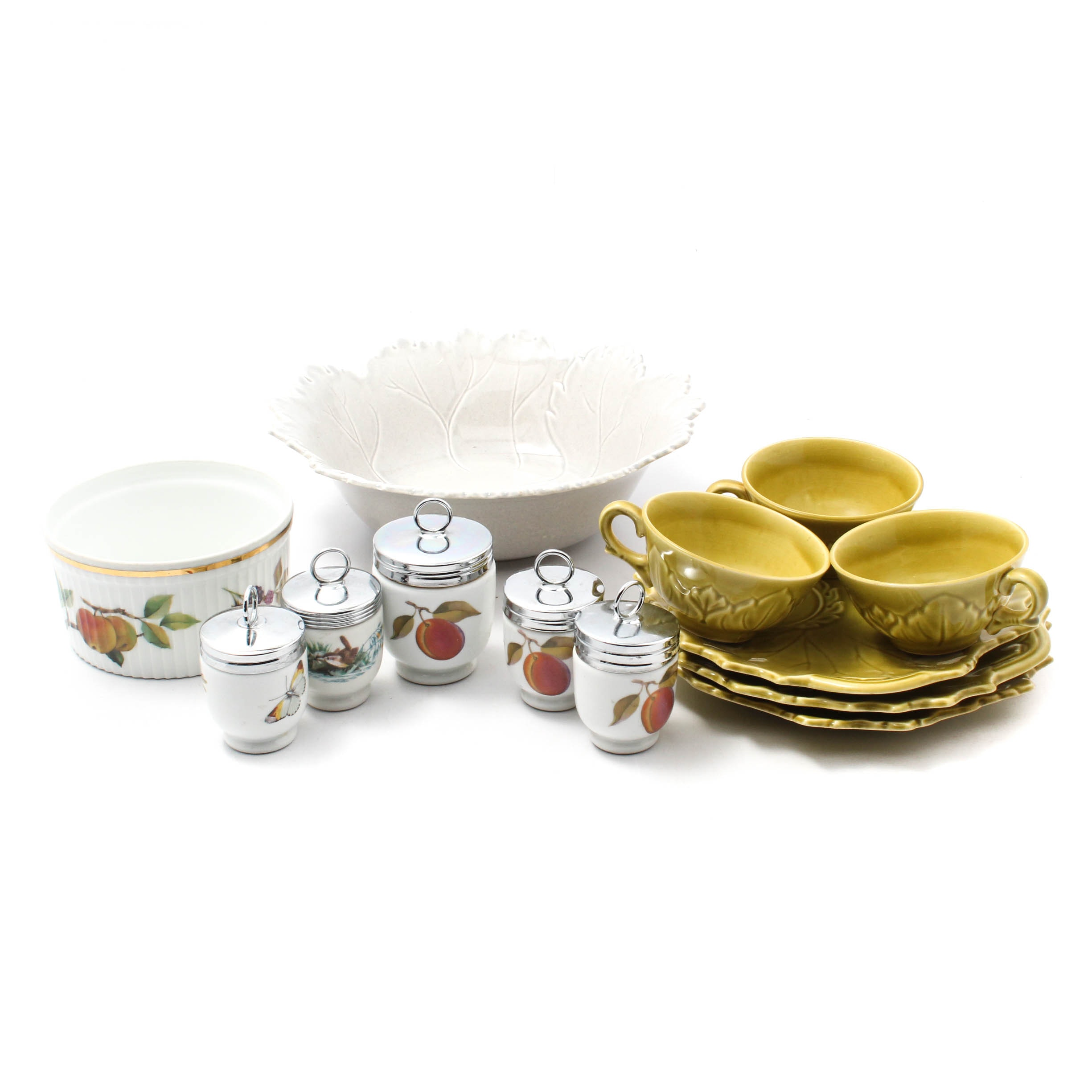 Tableware Featuring Royal Worcester and Steubenville