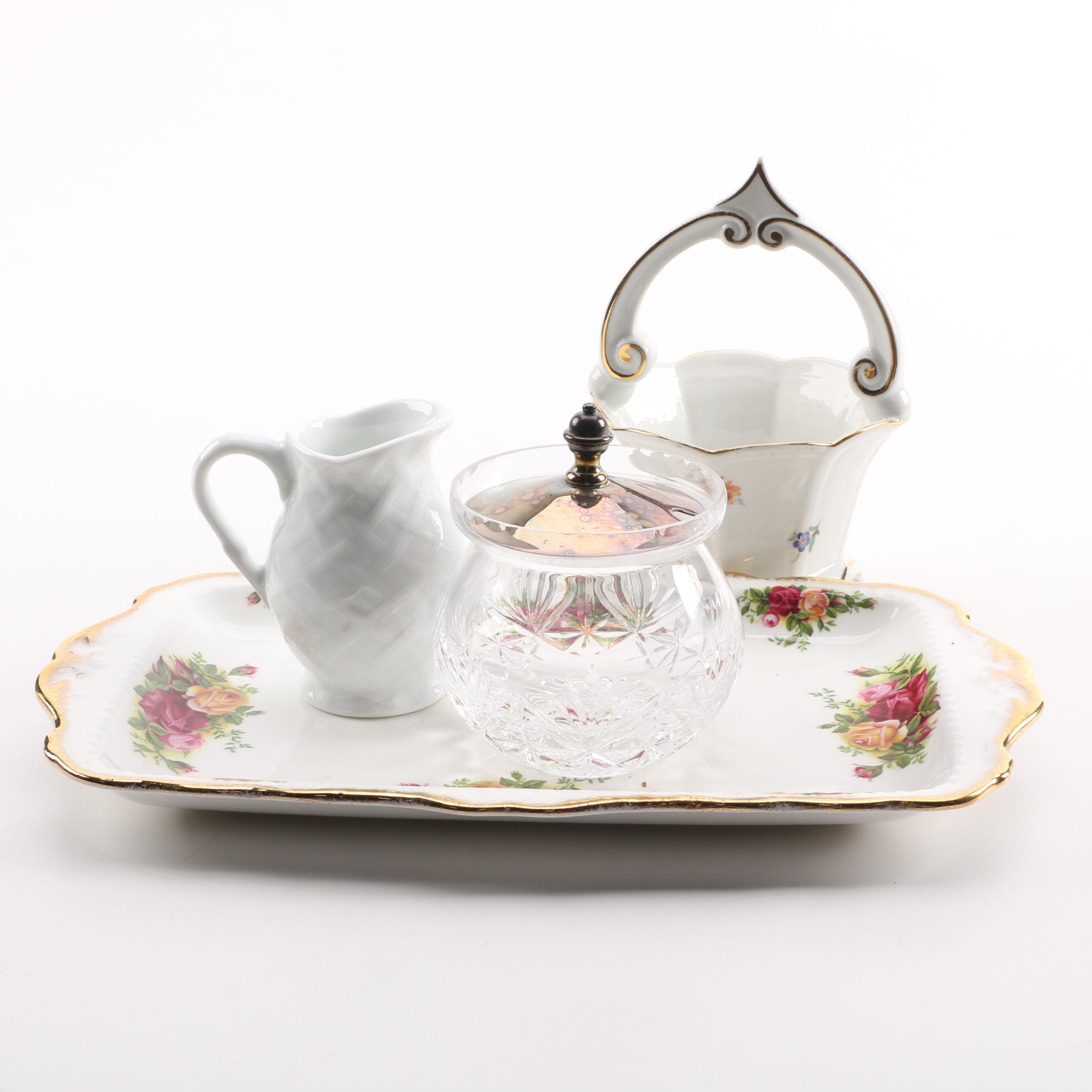 """Royal Albert """"Old Country Roses"""" Platter and Other Serveware"""