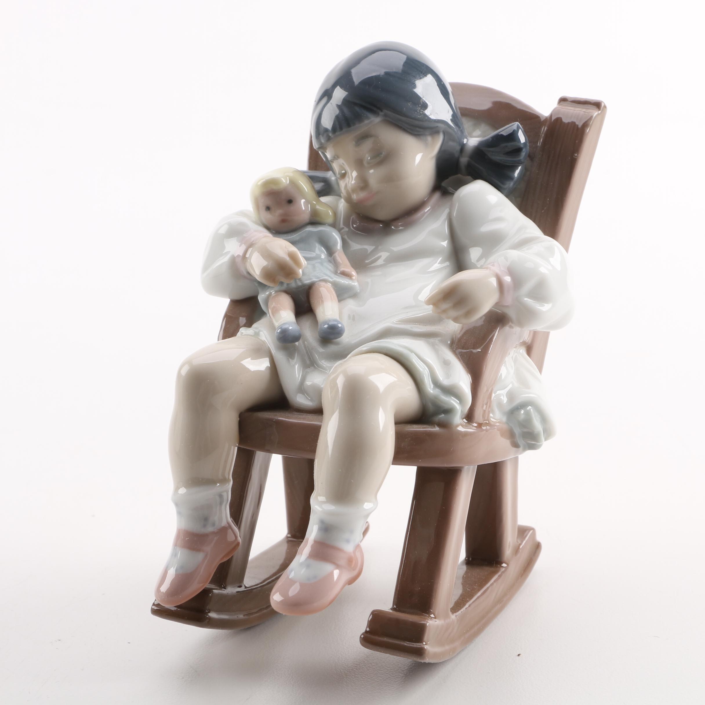 "Lladró ""Naptime"" Porcelain Figurine"