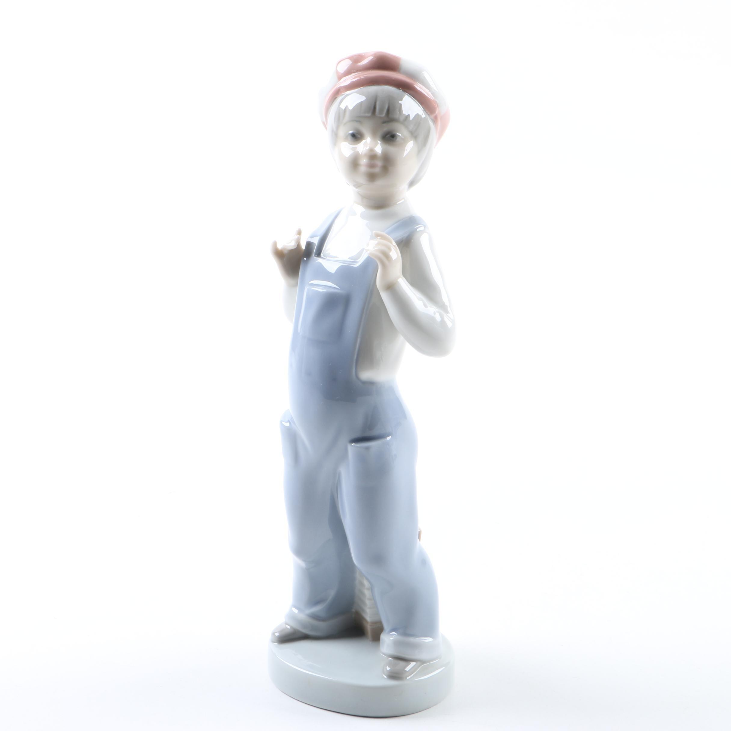 "Lladró ""Boy from Madrid"" Porcelain Figurine"