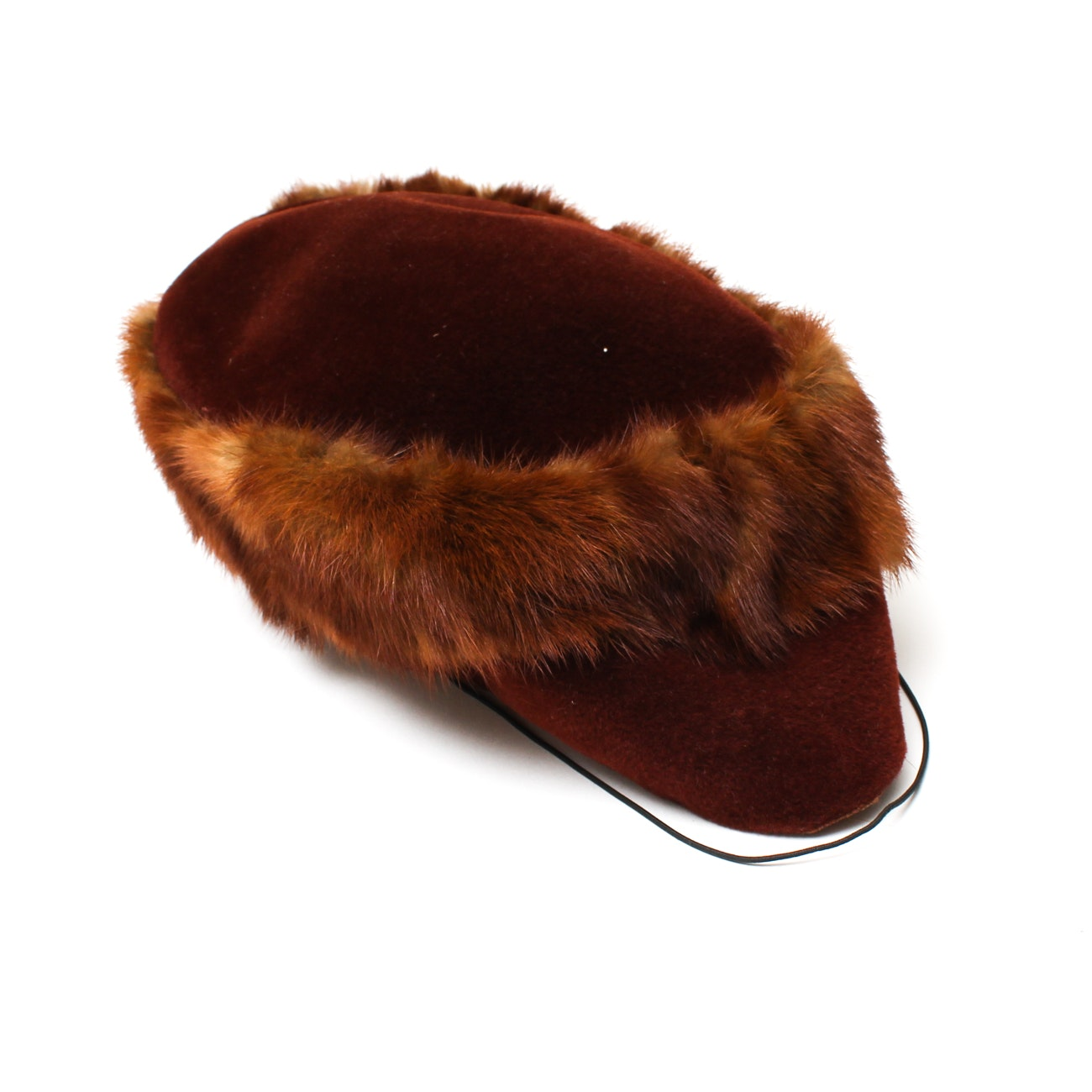 Women's Vintage Elder's Velour Hat