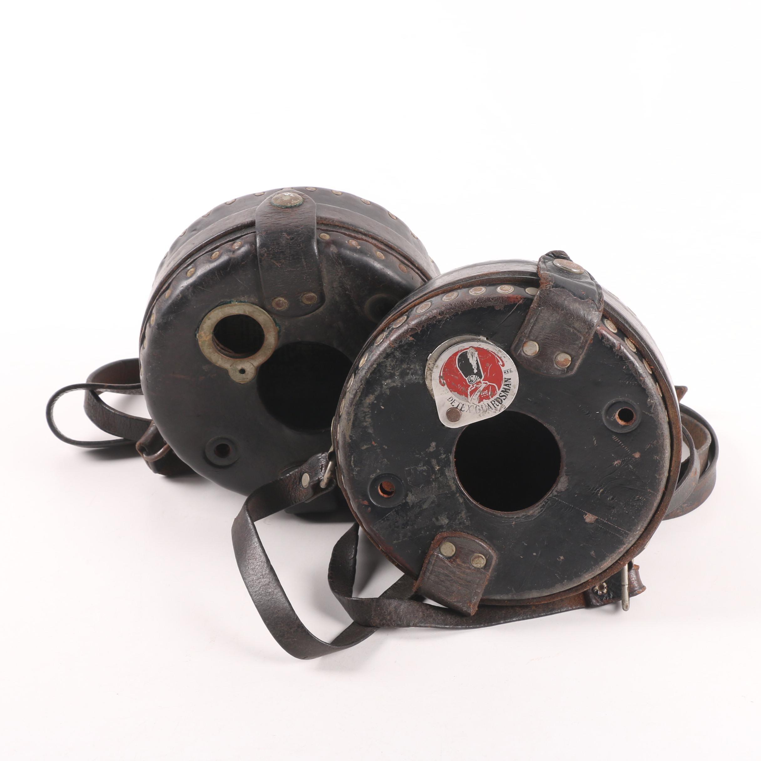 Detex Guardsman Watchclock Leather Cases