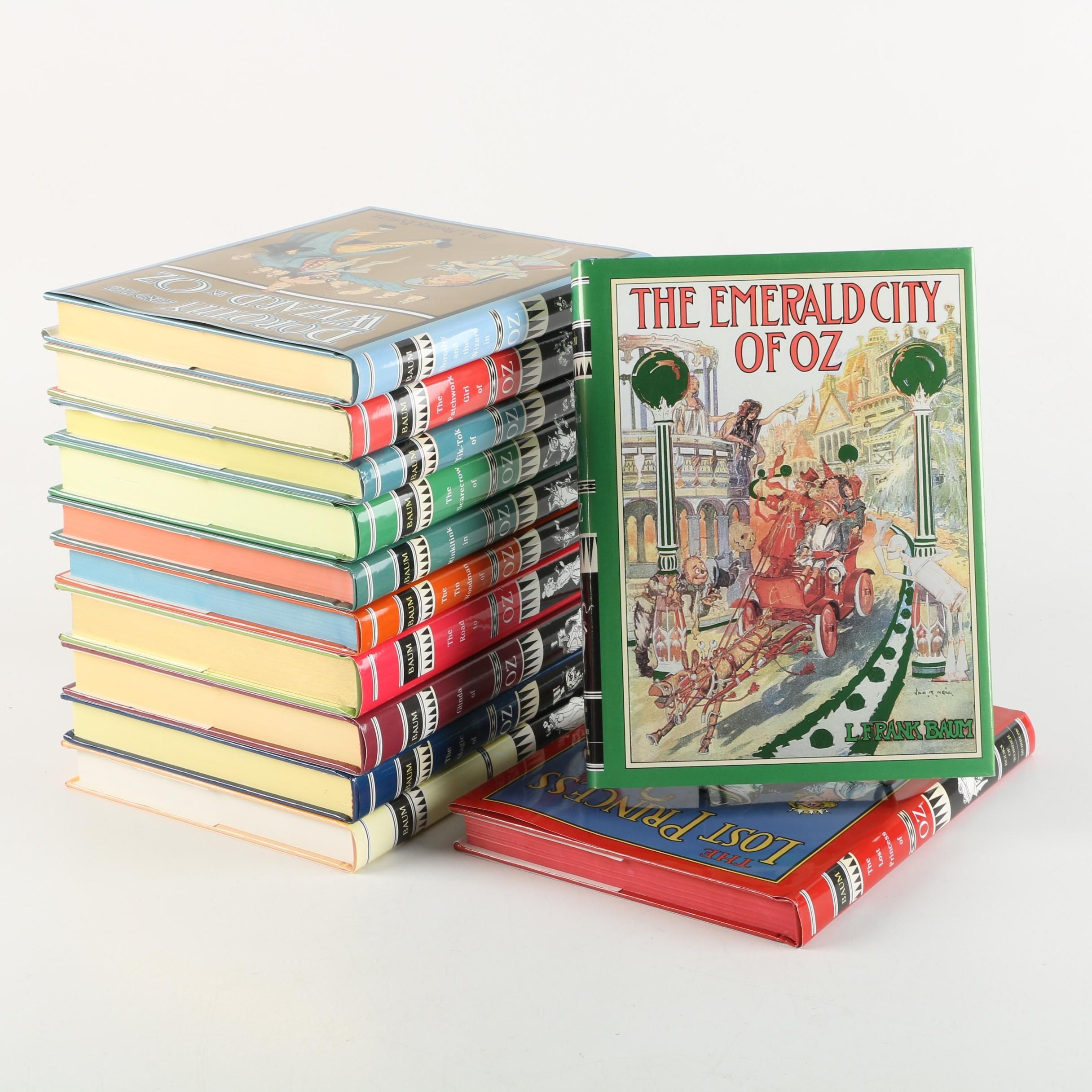 L. Frank Baum Books From the Oz Series