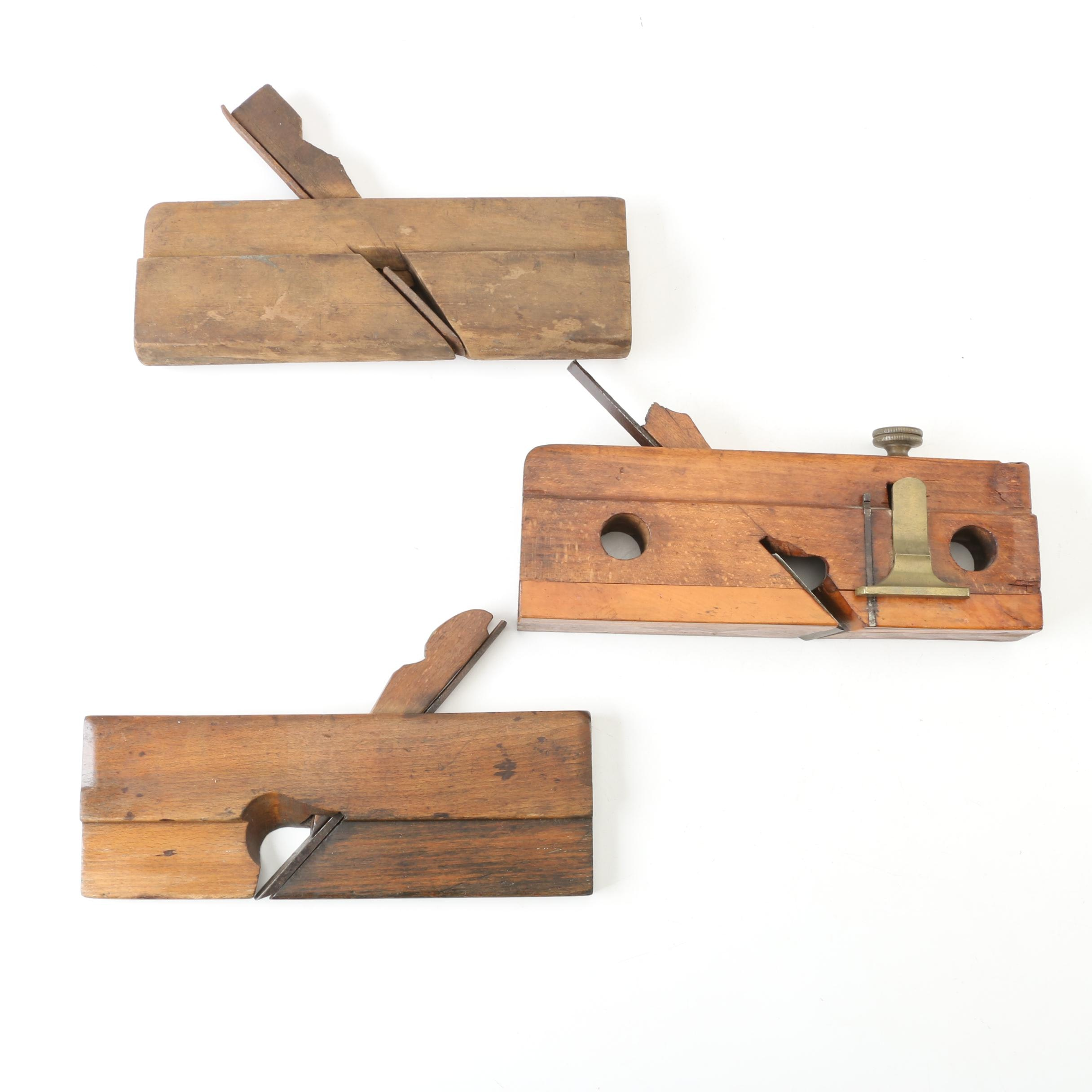Vintage Molding Planes including Pratt Co.