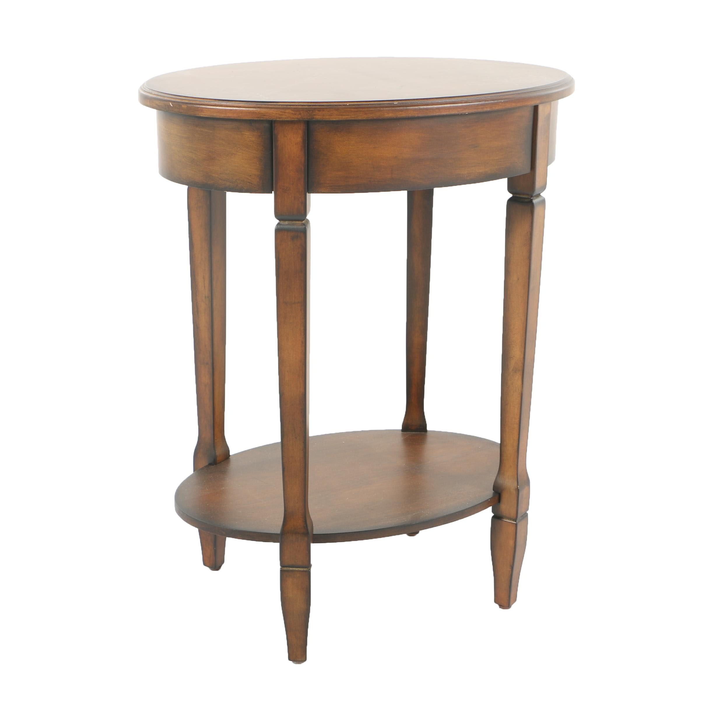 Oval Top Accent Table by Pacific Coast Lighting