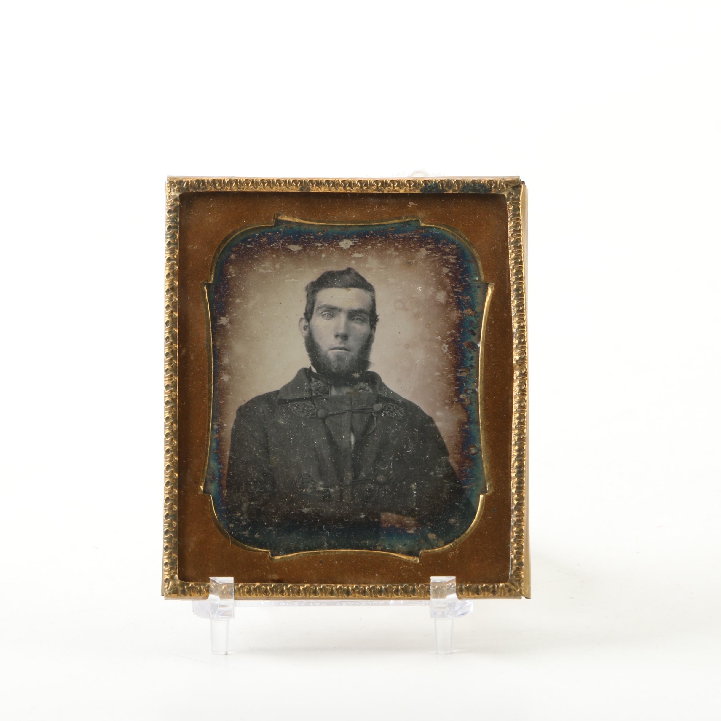 Antique Daguerreotype Portrait
