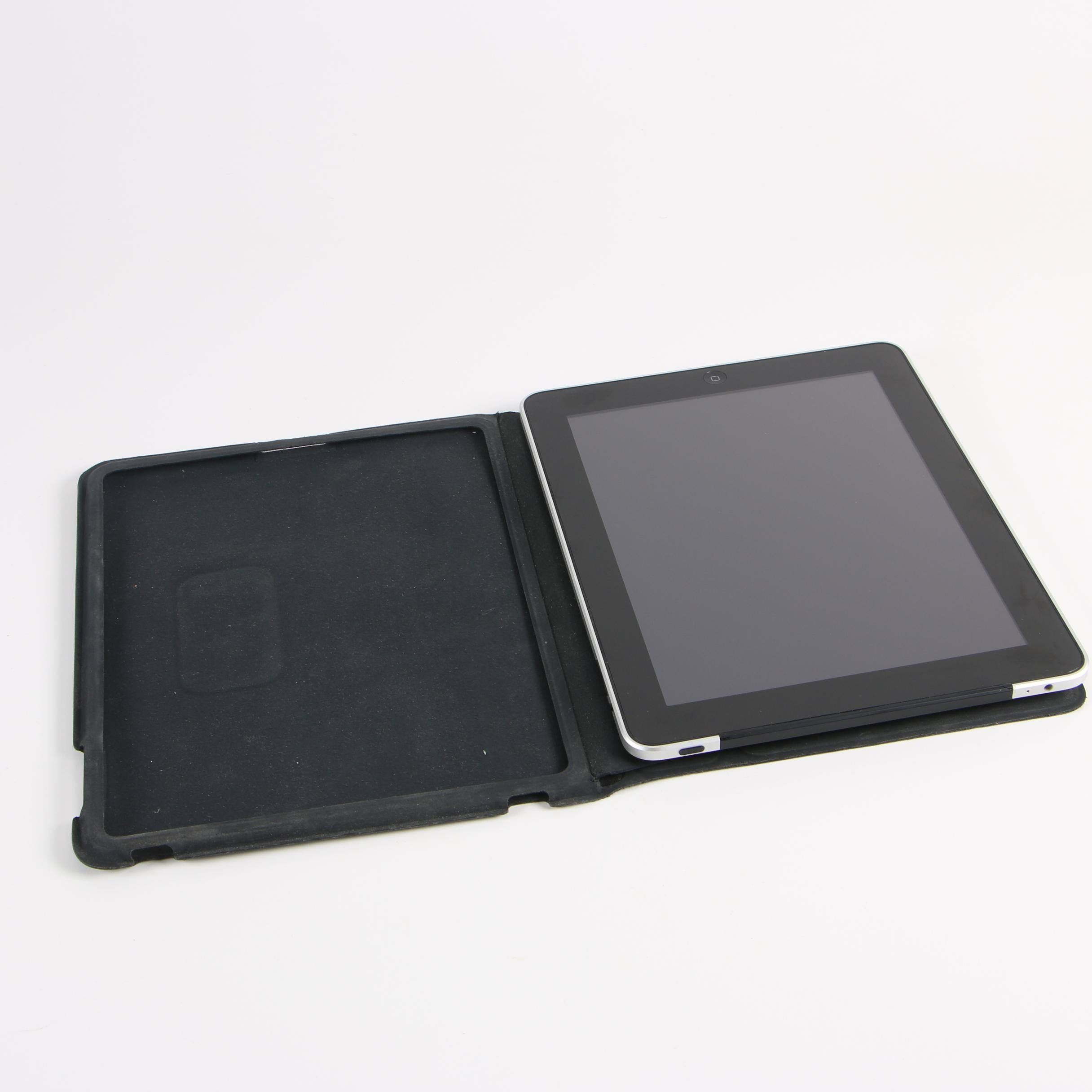 Apple iPad First Generation Model A1337 Tablet with Case
