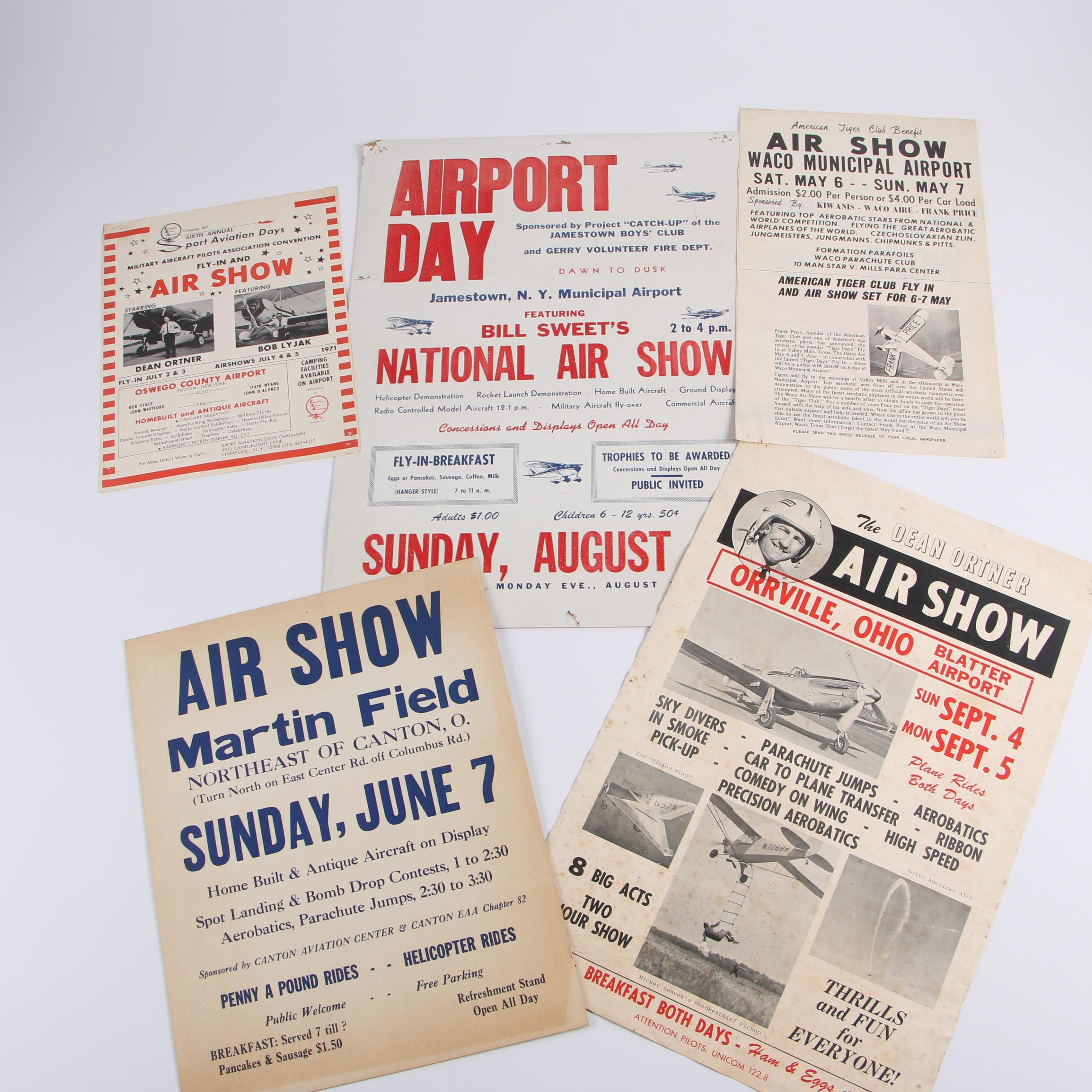 1960s-1970s Air Show Posters and Flyers