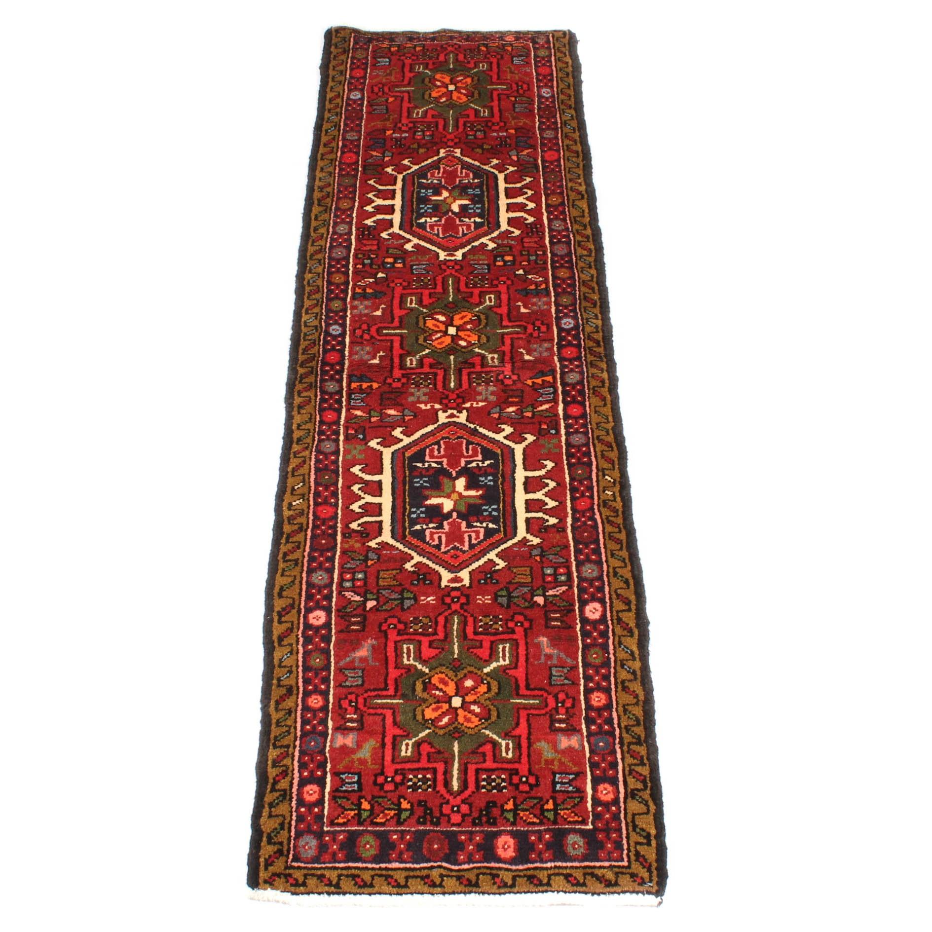 Hand-Knotted Persian Lamberan Carpet Runner