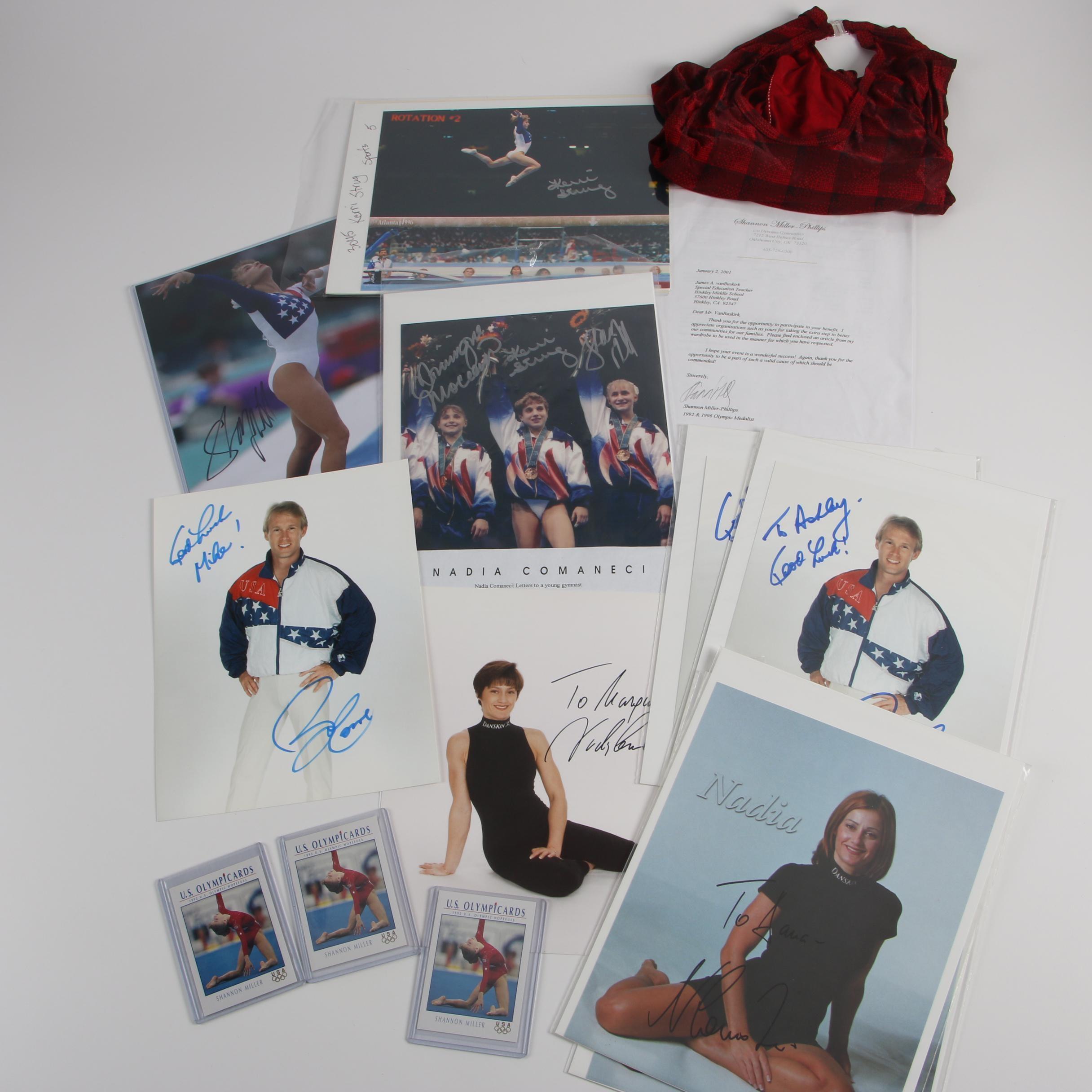 Kerri Strug and Other Olympic Gymnast Autographs